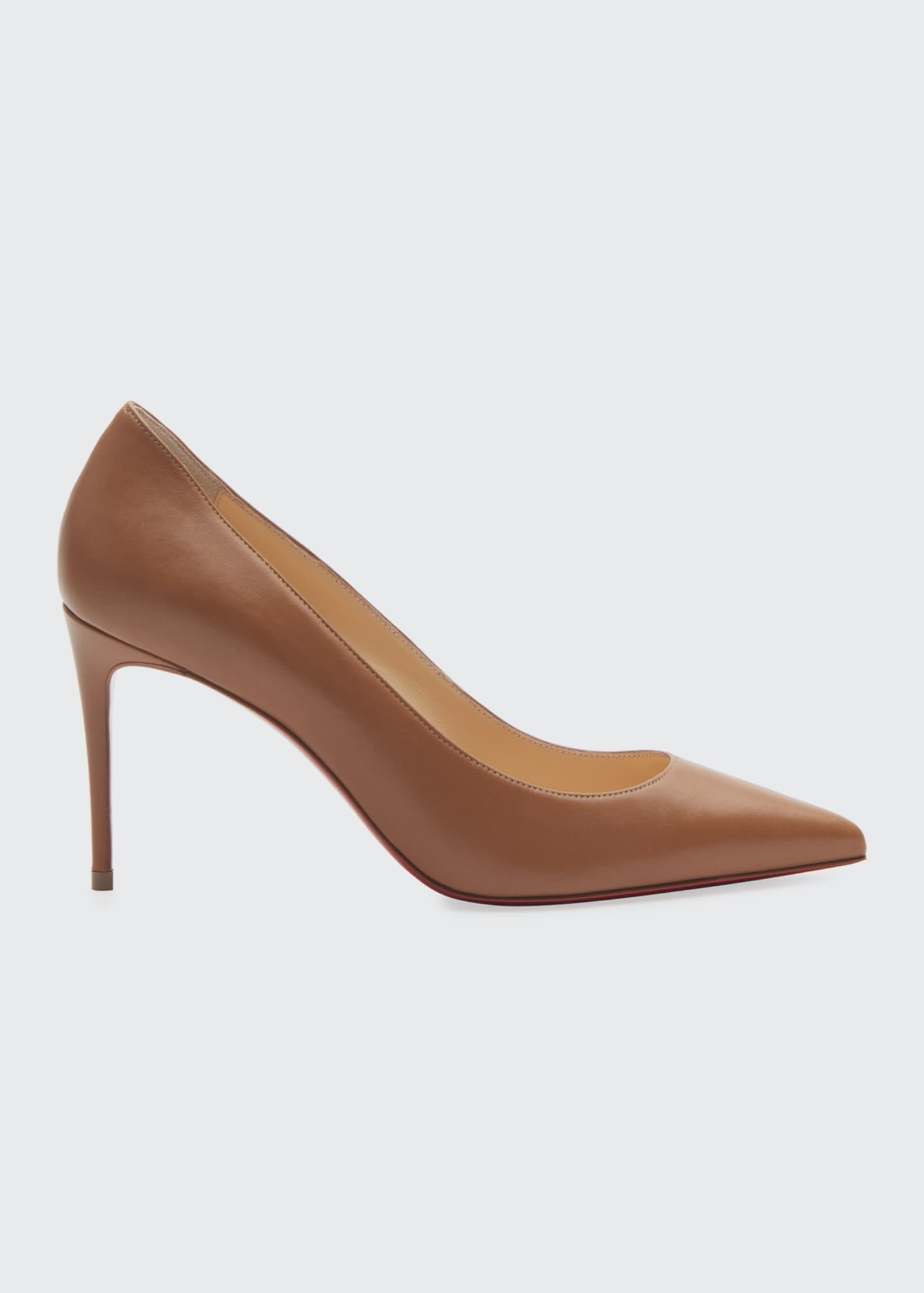 Image 1 of 3: Kate 85mm Red Sole Pumps