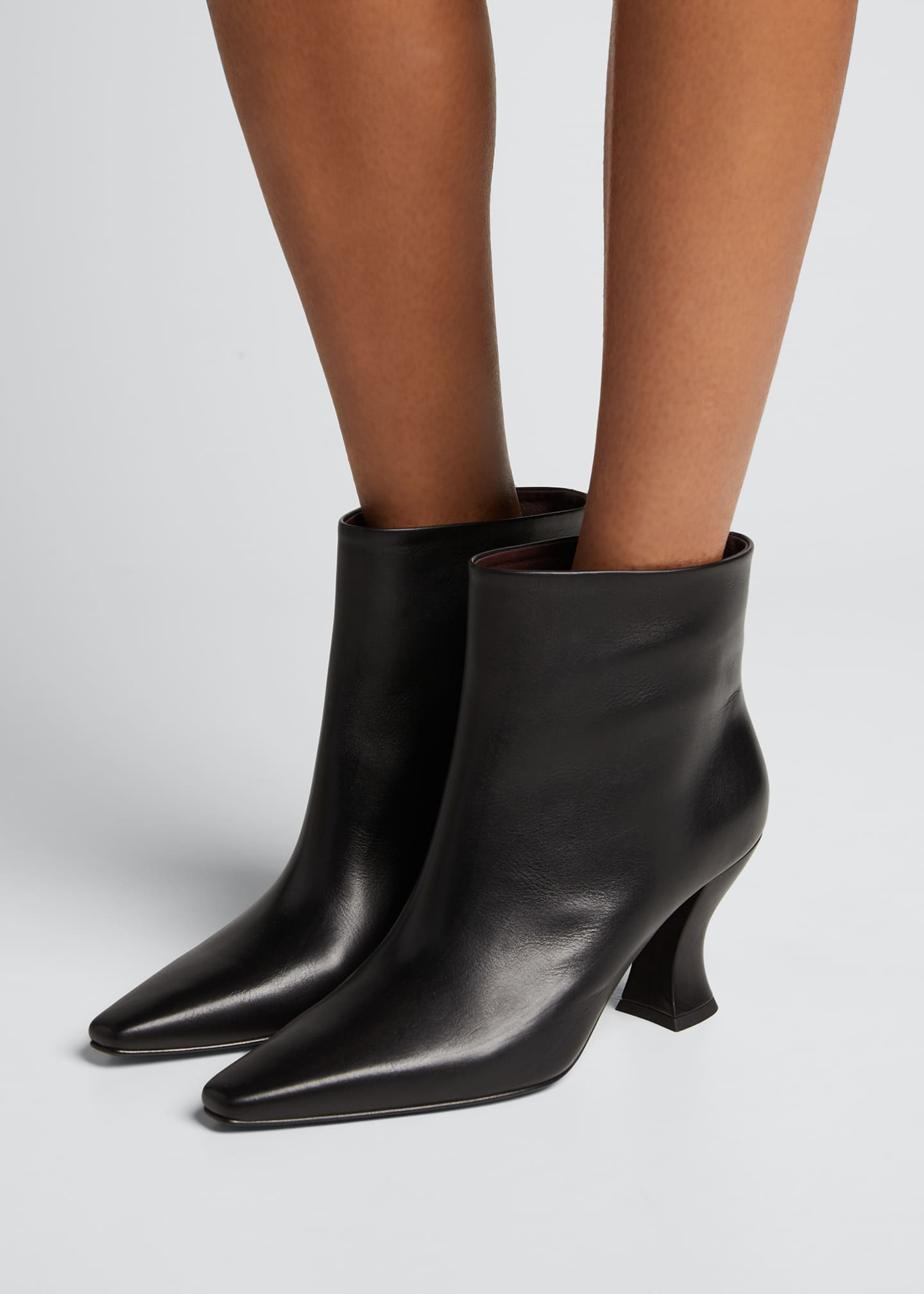 Image 2 of 5: Cloud Calf Ankle Booties