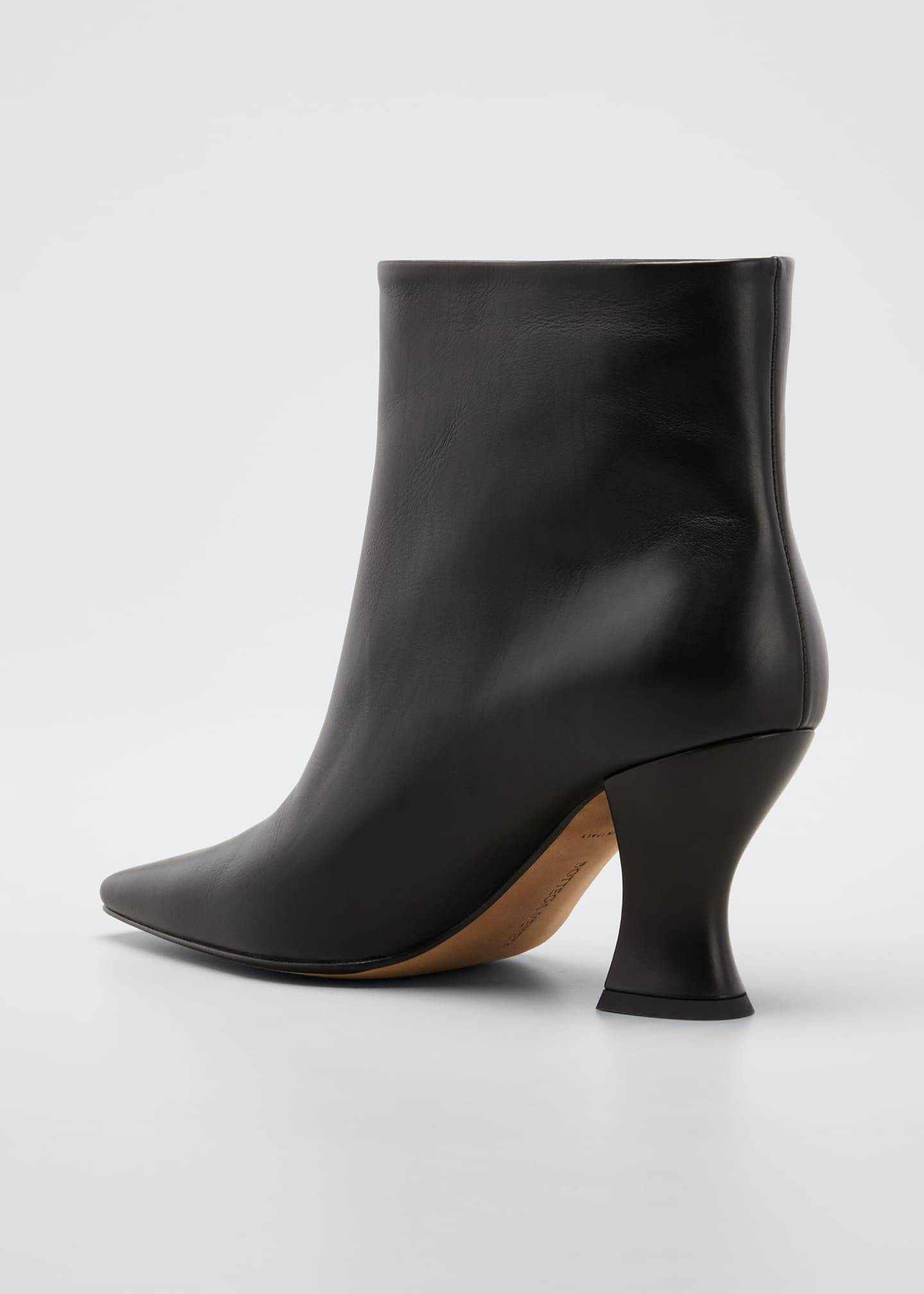 Image 4 of 5: Cloud Calf Ankle Booties