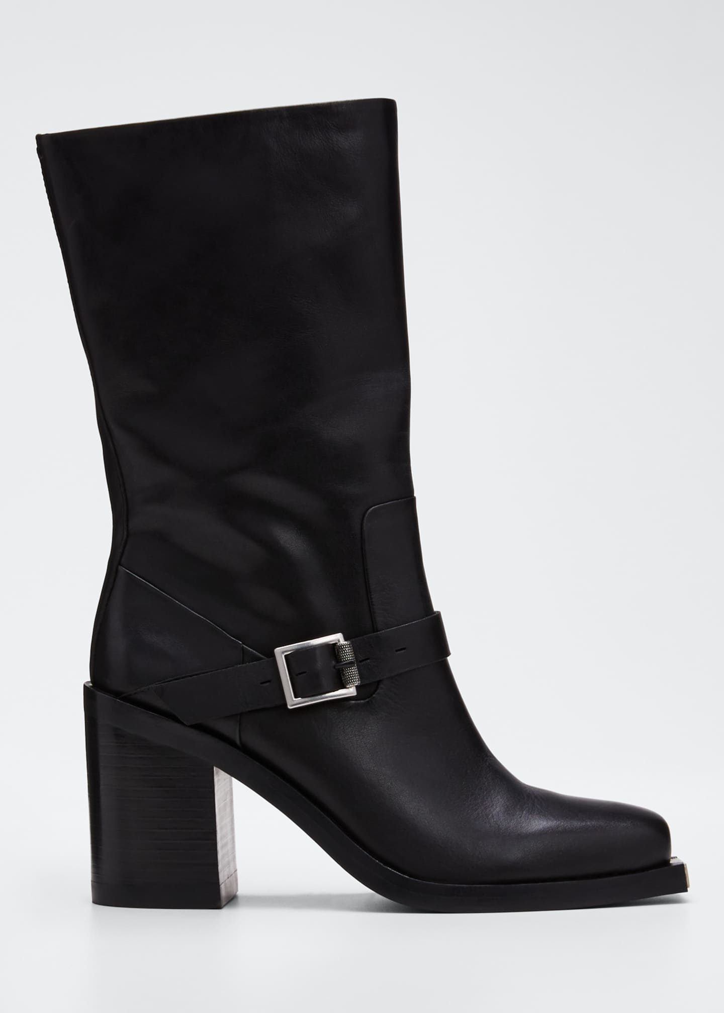 Image 1 of 3: Fallon High Leather Boots