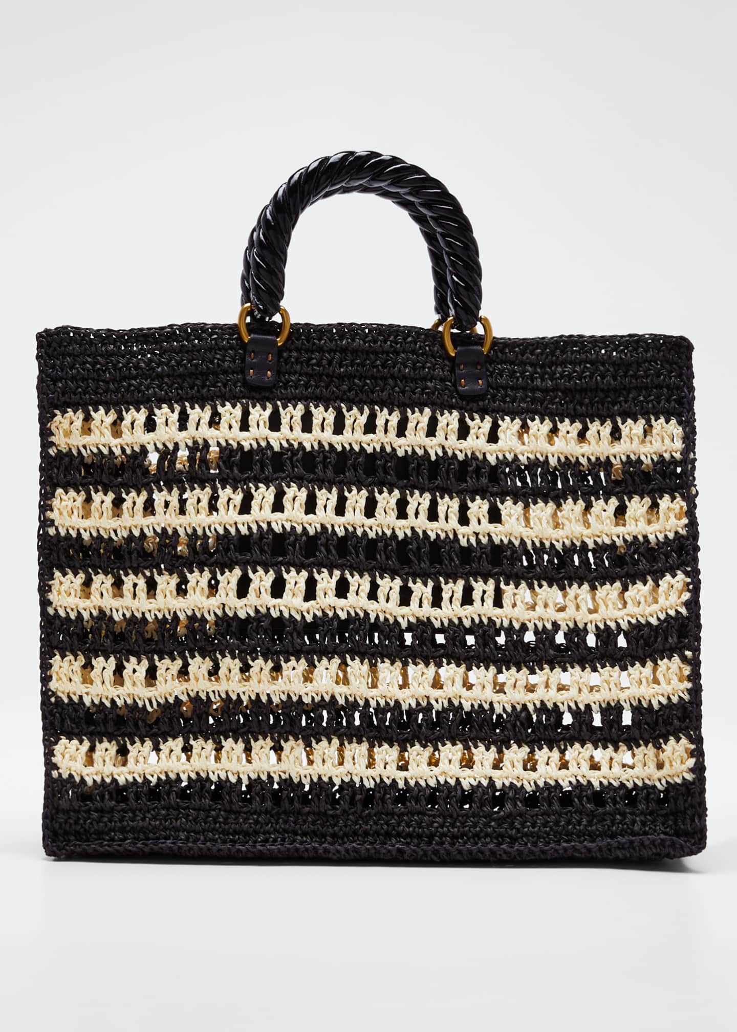 Mehry Mu Lucia Striped Tote Bag