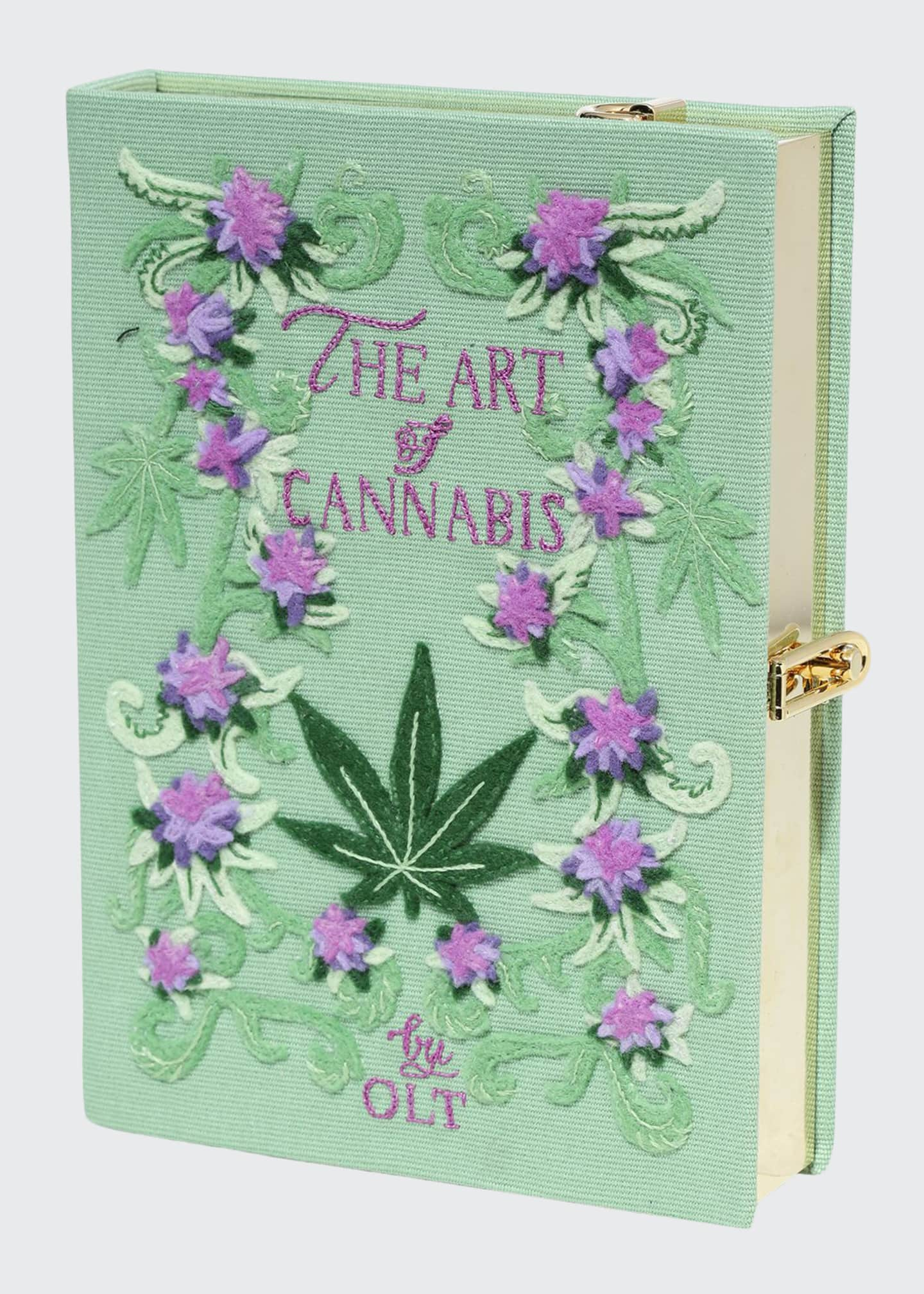 Olympia Le-Tan The Art Of Cannabis Strapped Book