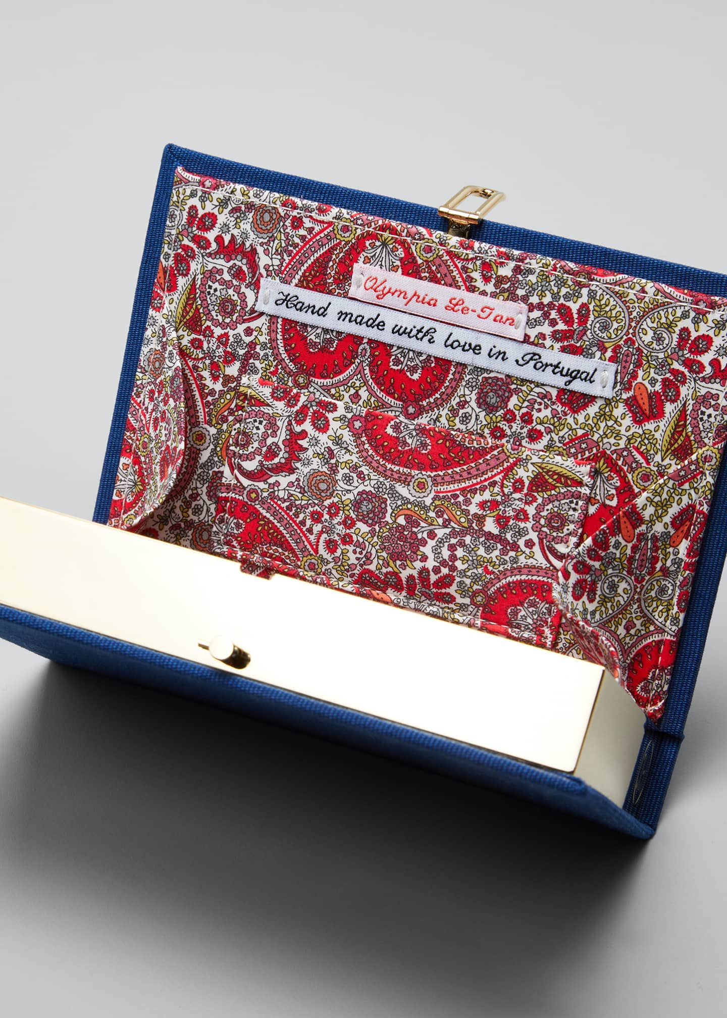 Image 4 of 5: The Art Of Happy Marriage Mini Book Clutch Bag