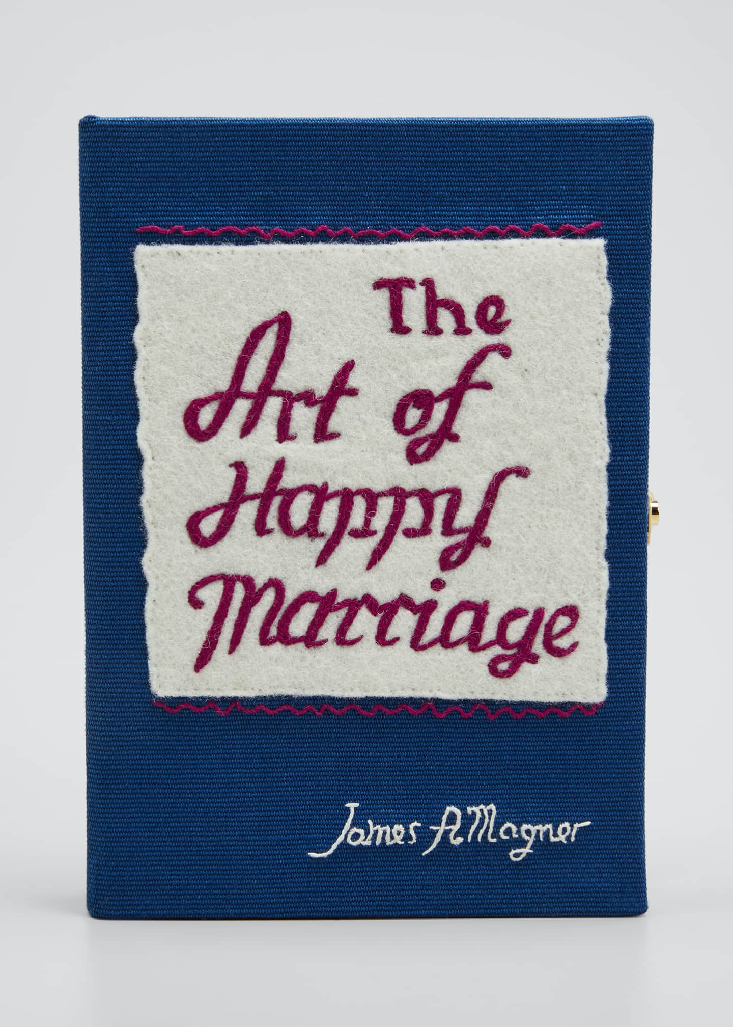 Image 1 of 5: The Art Of Happy Marriage Mini Book Clutch Bag
