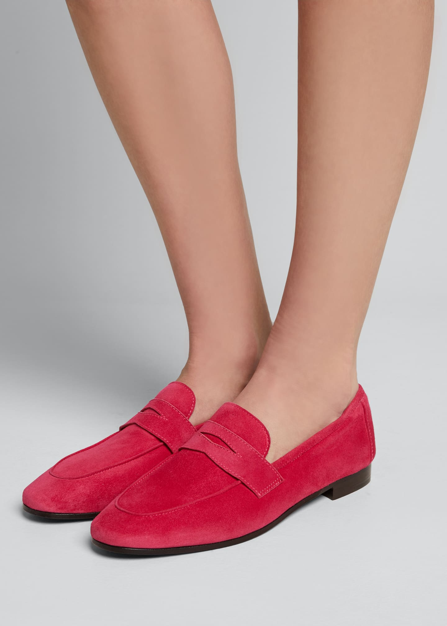 Image 2 of 5: Flaneur Suede Loafers