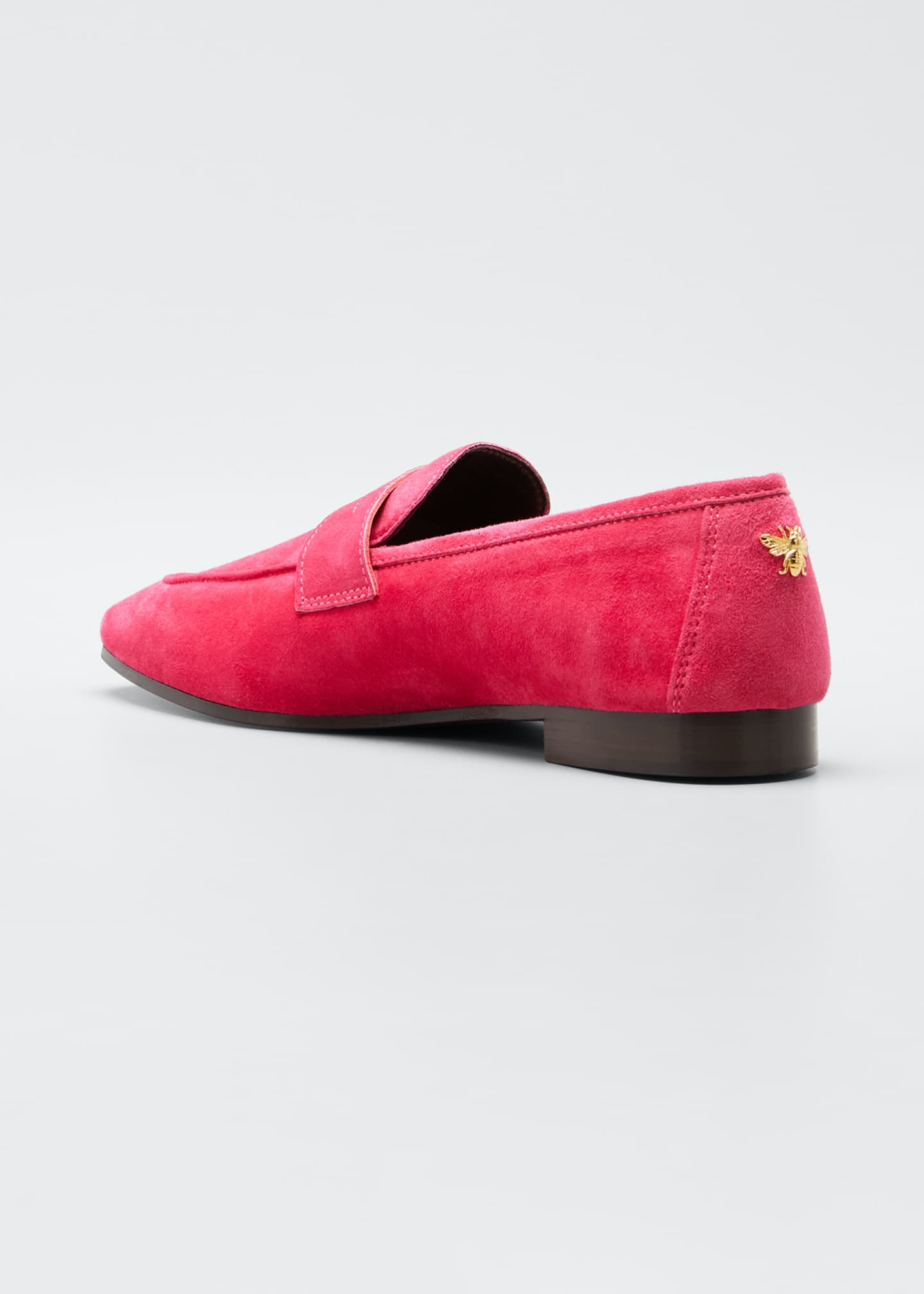 Image 4 of 5: Flaneur Suede Loafers