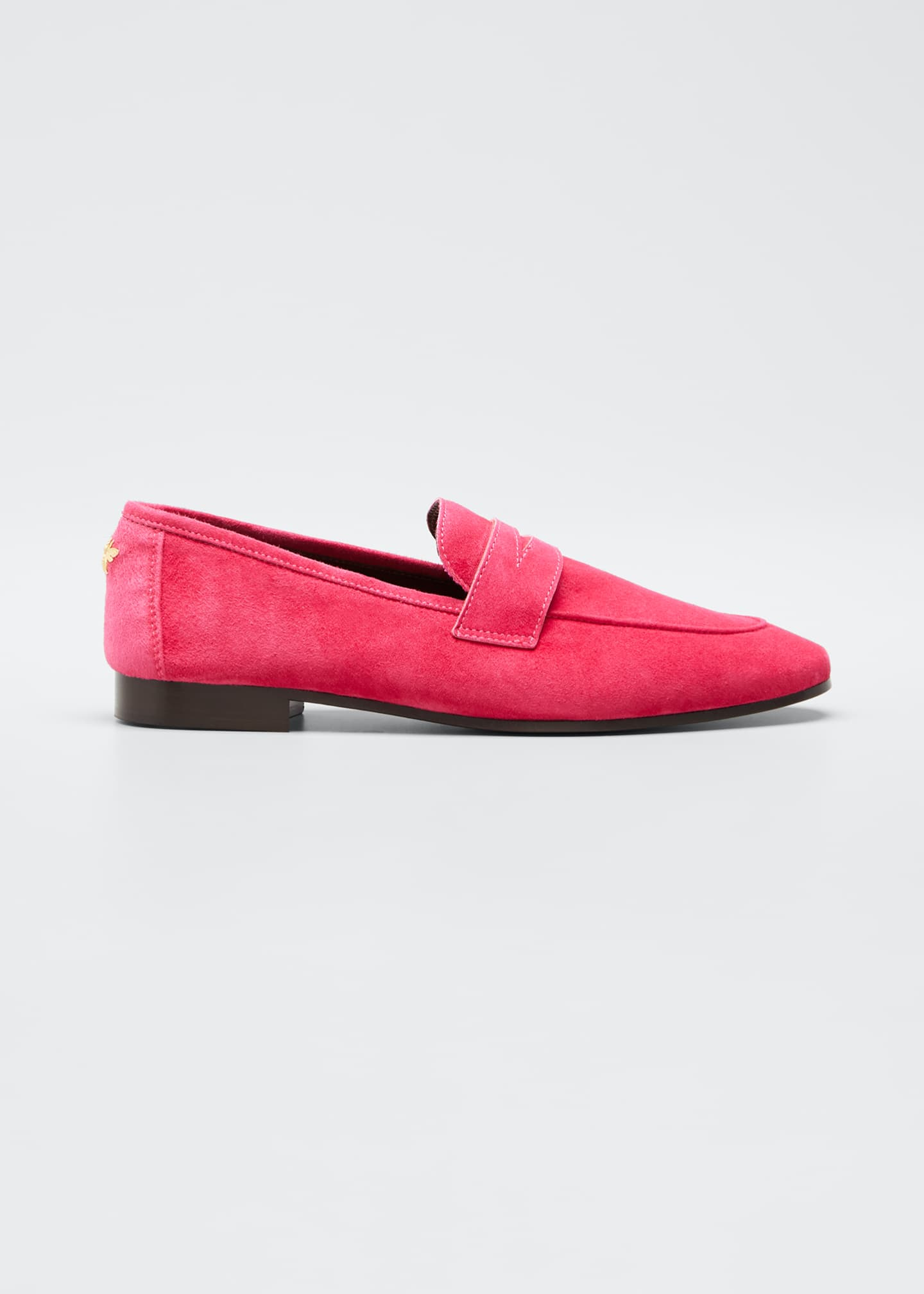 Image 1 of 5: Flaneur Suede Loafers