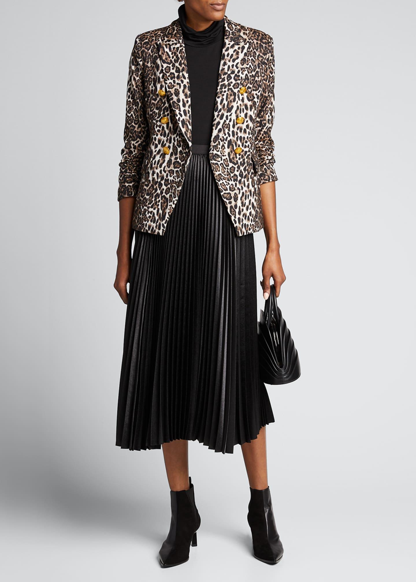 A.L.C. Alton Leopard-Print Jacket