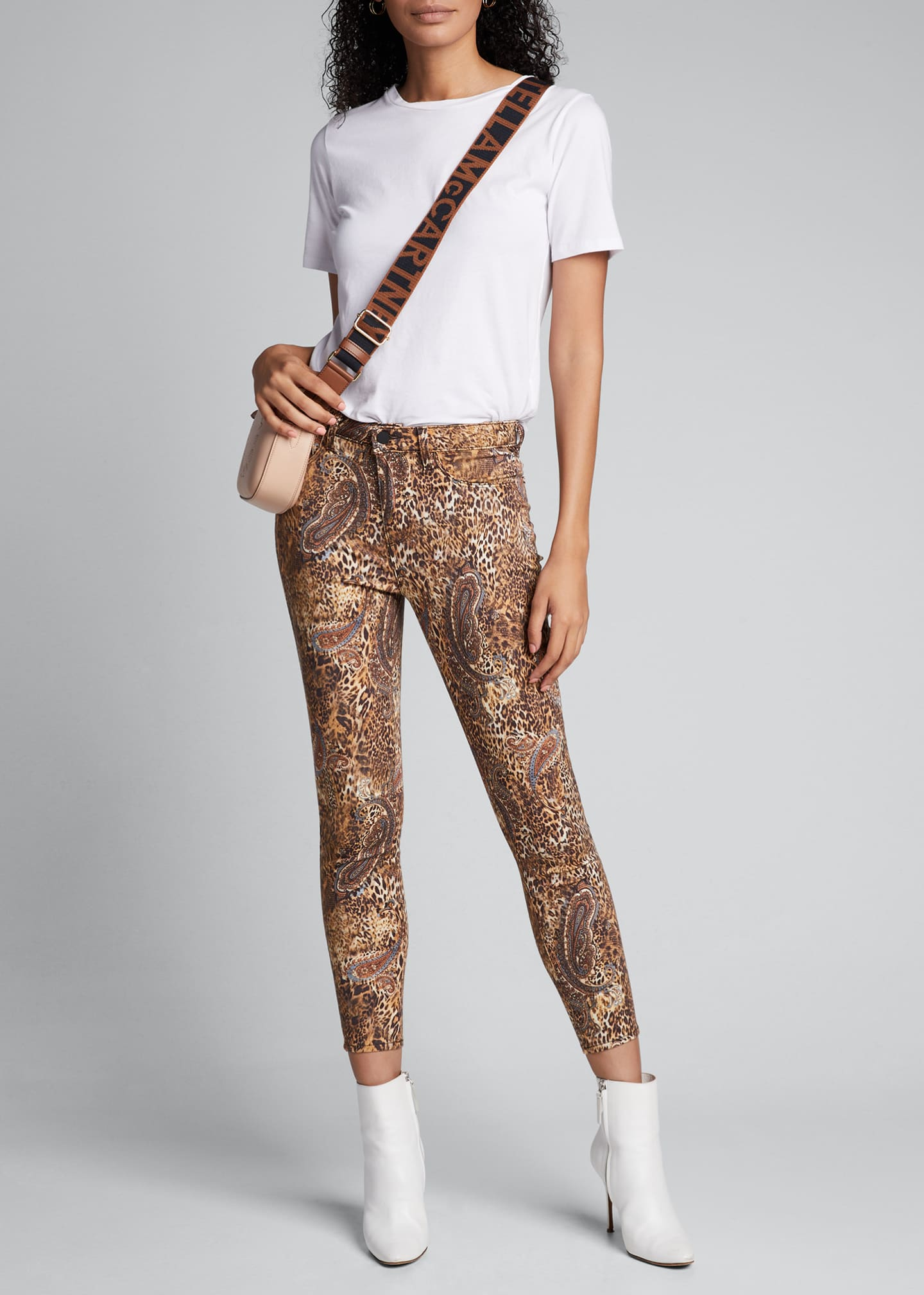 L'Agence Margot Valencia High-Rise Skinny Ankle Jeans