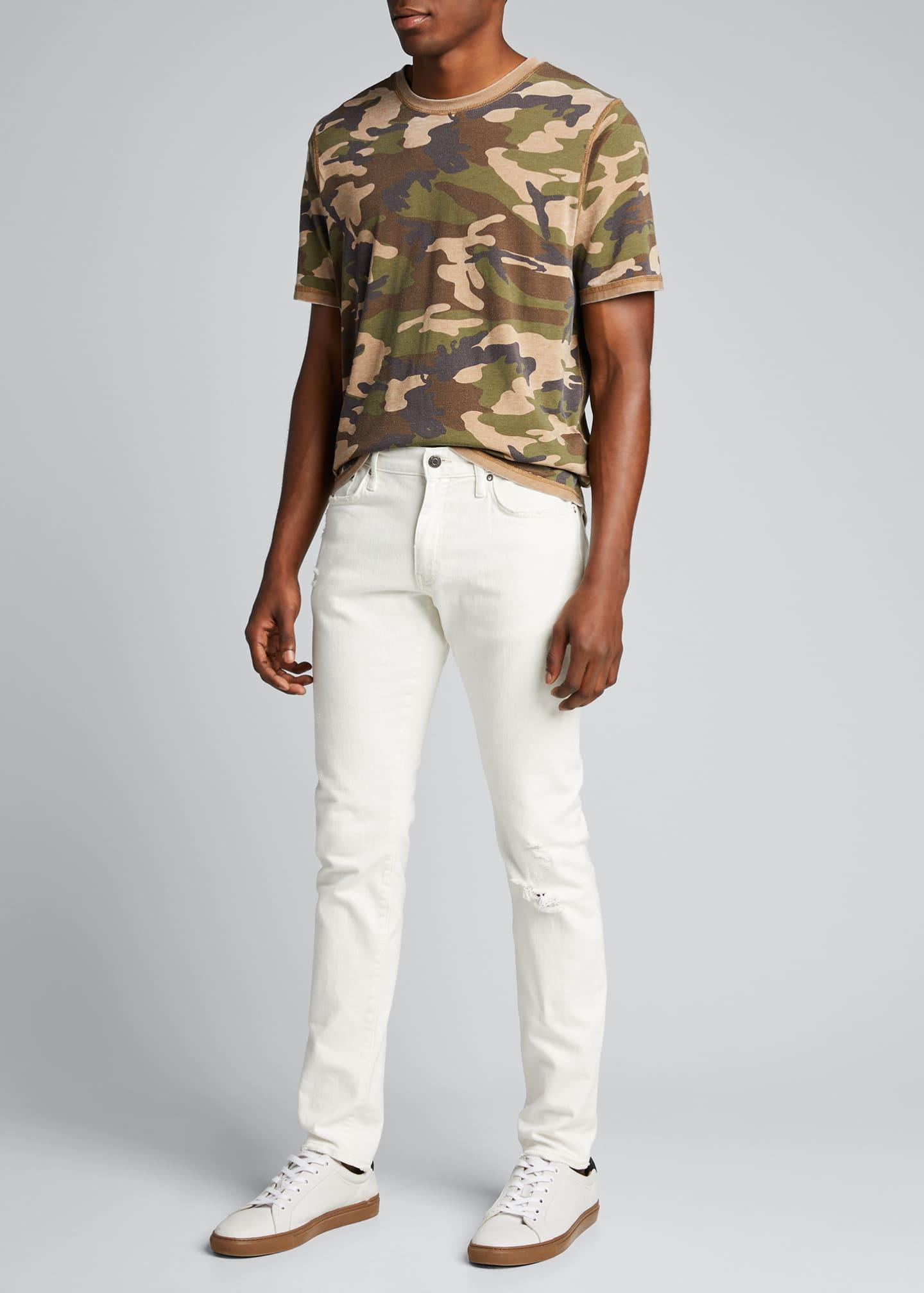 Ovadia & Sons Men's Slim Blanc Jean