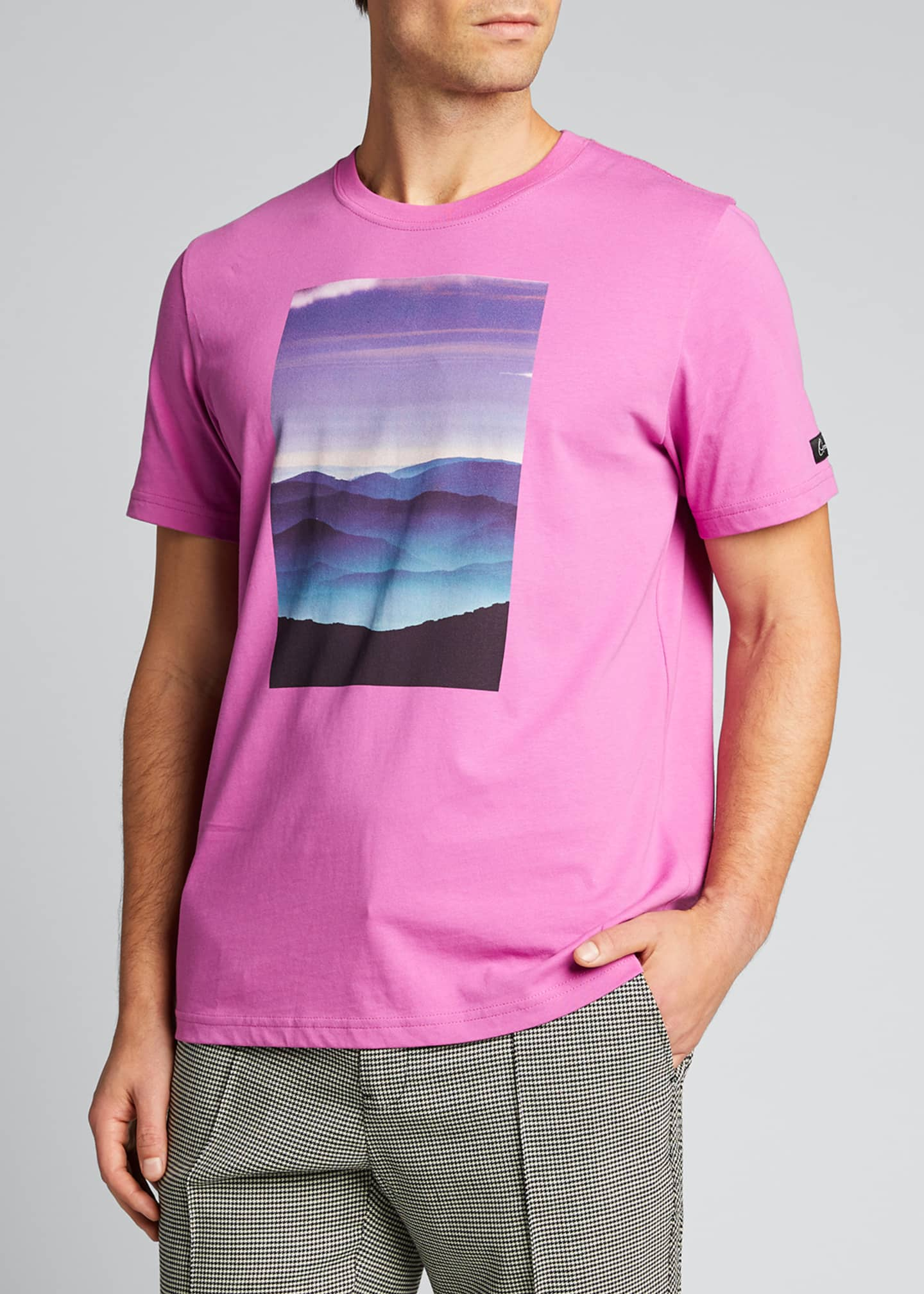 Image 3 of 5: Men's Tatra Landscape Graphic T-Shirt