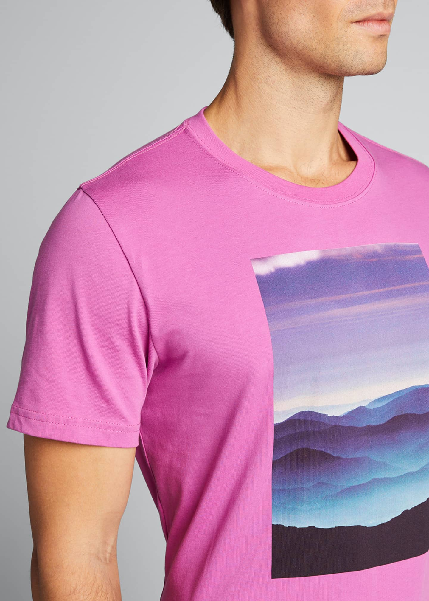 Image 4 of 5: Men's Tatra Landscape Graphic T-Shirt