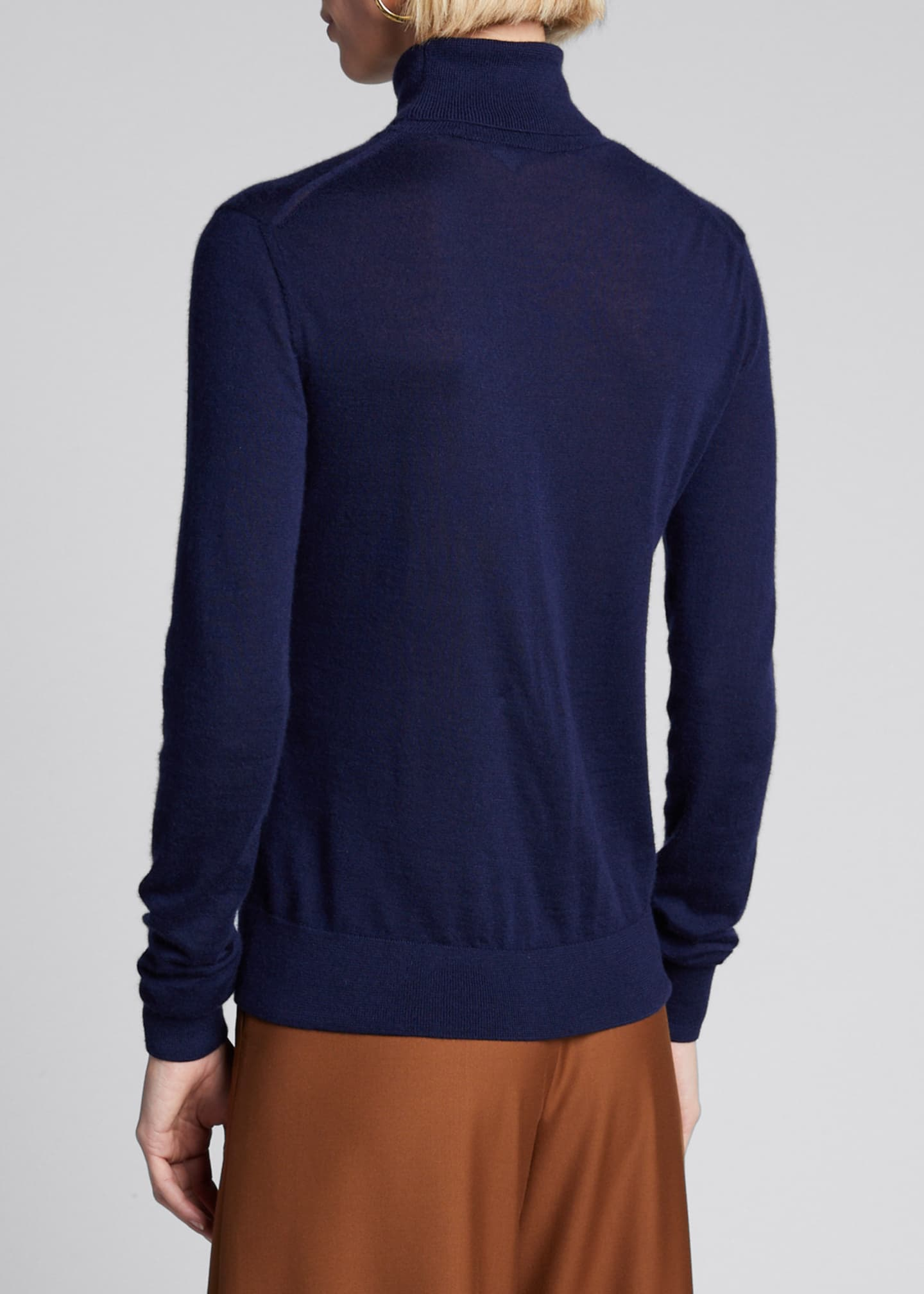 Image 2 of 5: Cashmere Turtleneck Sweater