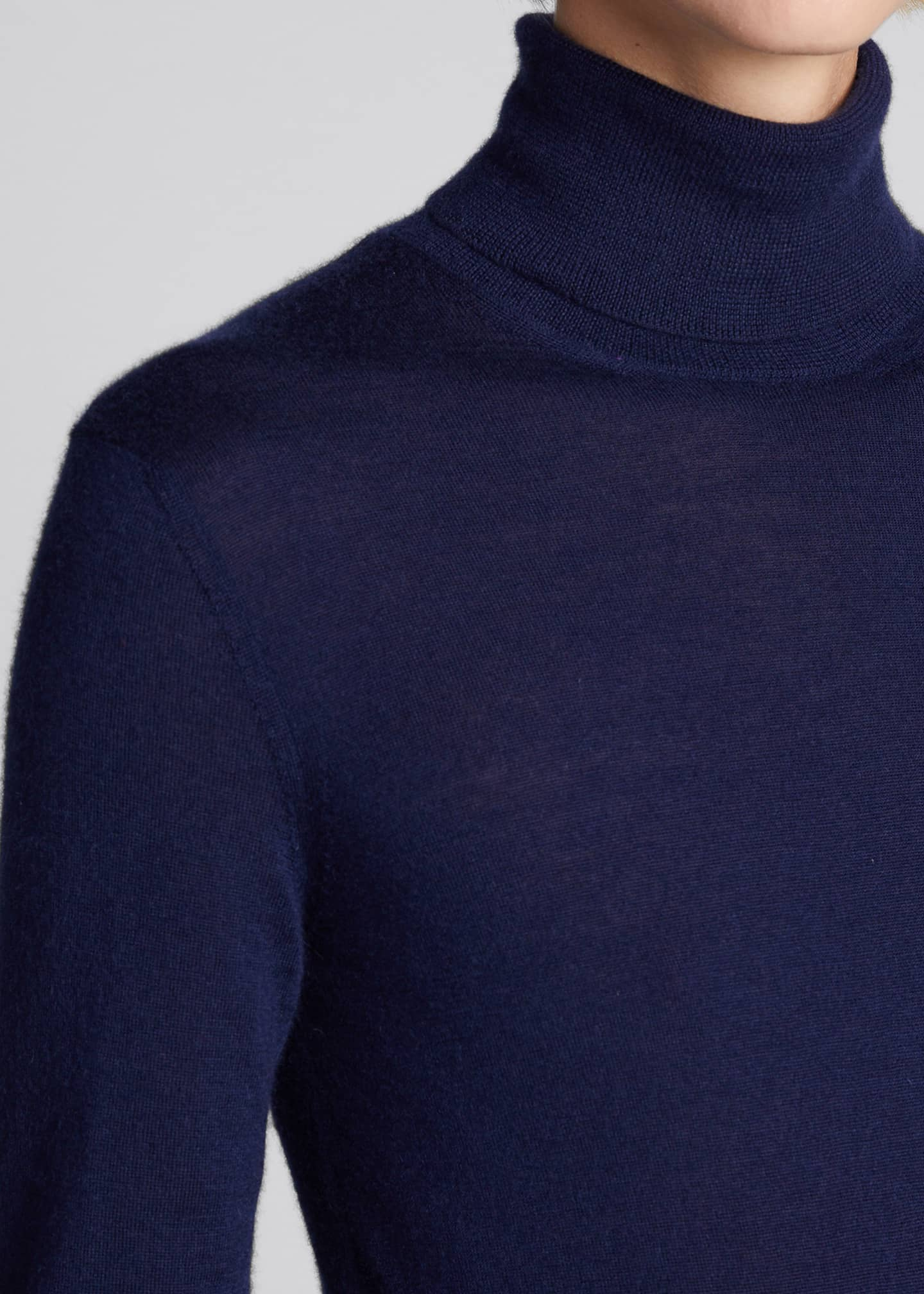 Image 4 of 5: Cashmere Turtleneck Sweater