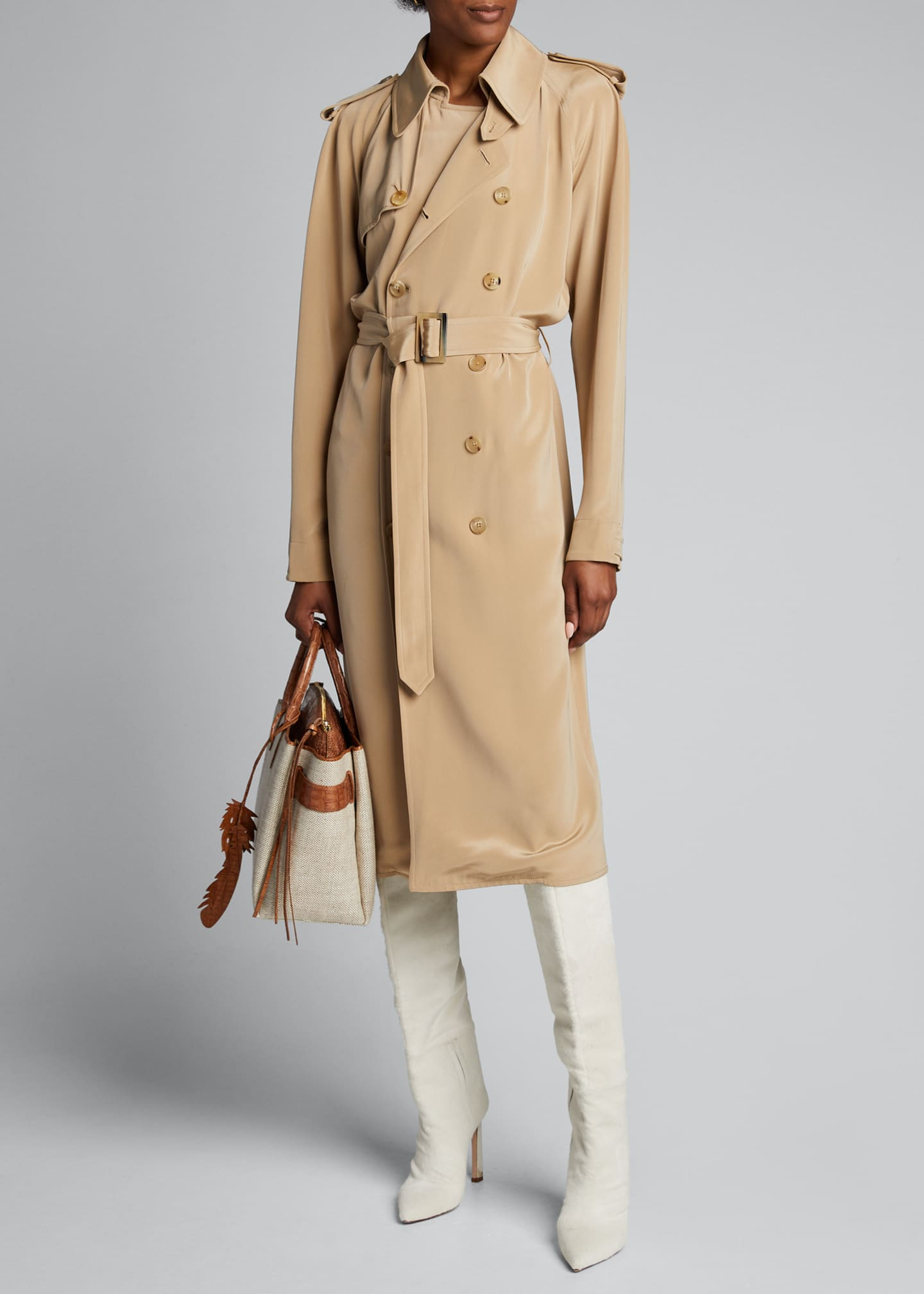 Ralph Lauren Collection Charley Trench Dress