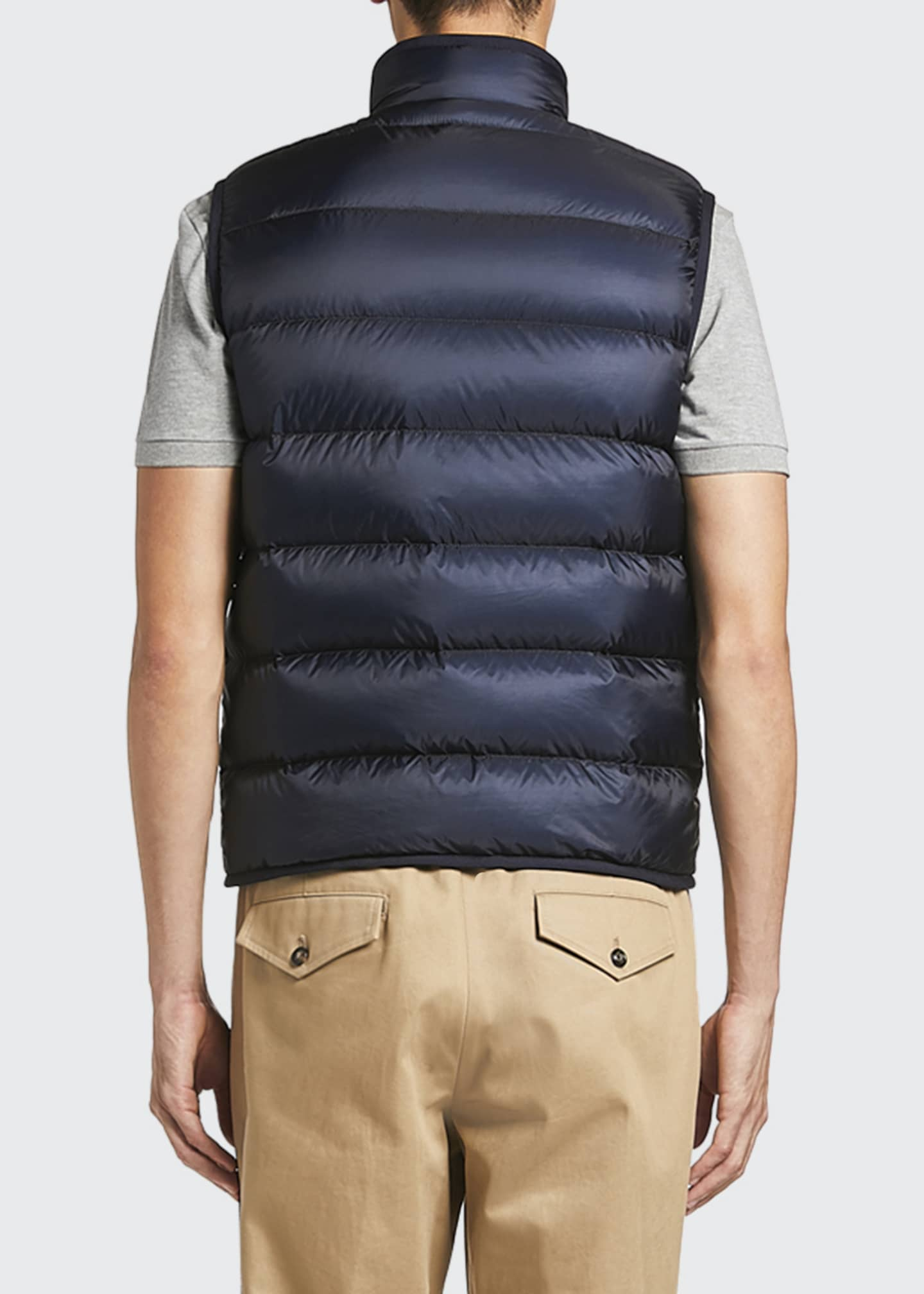 Image 2 of 2: Men's Bourceau Puffer Vest