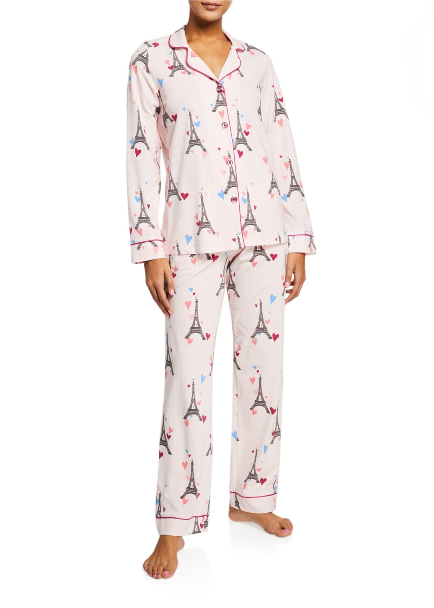 BedHead Pajamas Eiffel Tower Classic Pajama Set