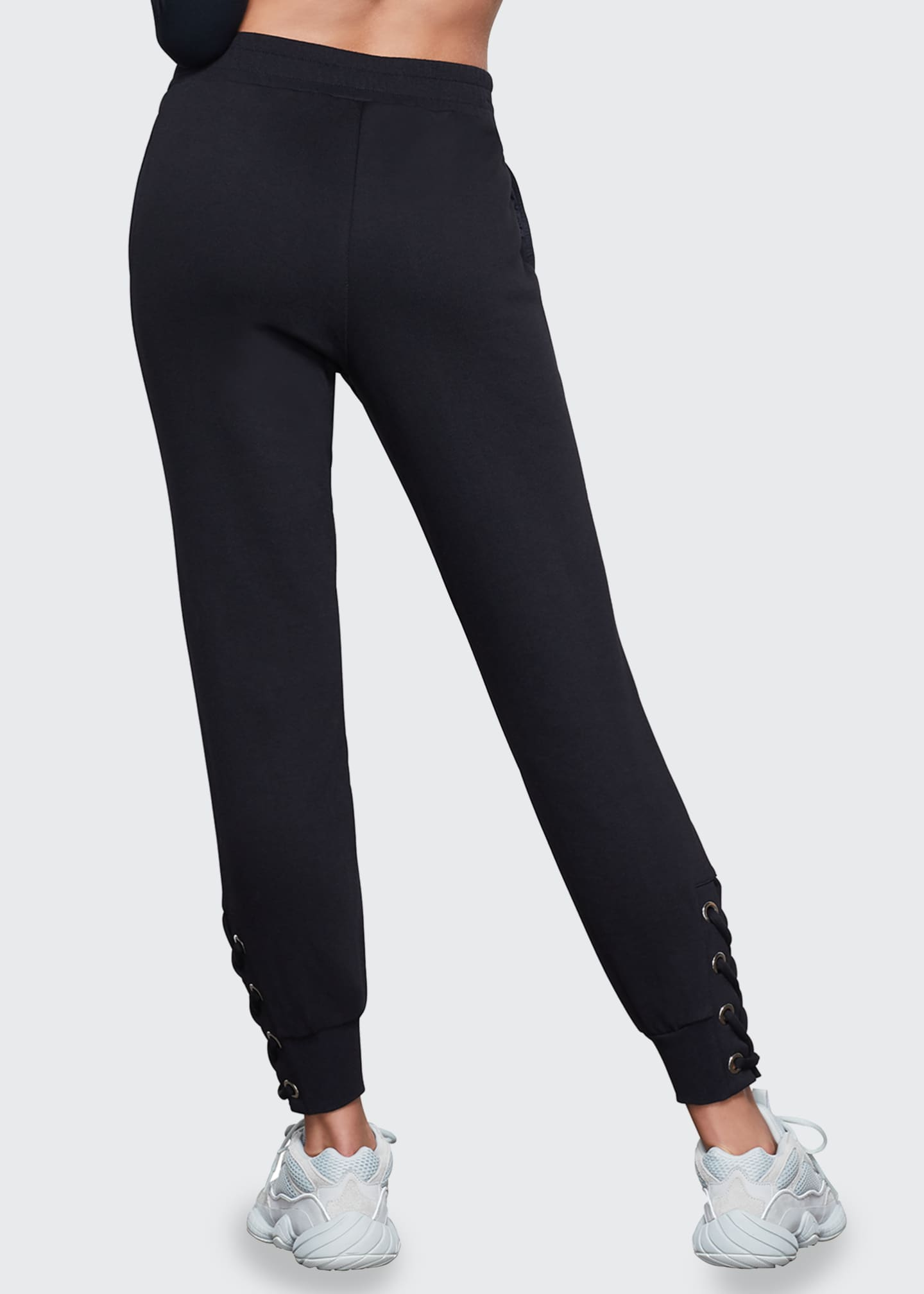 Image 3 of 3: Lace-Up Jogger Pants - Inclusive Sizing