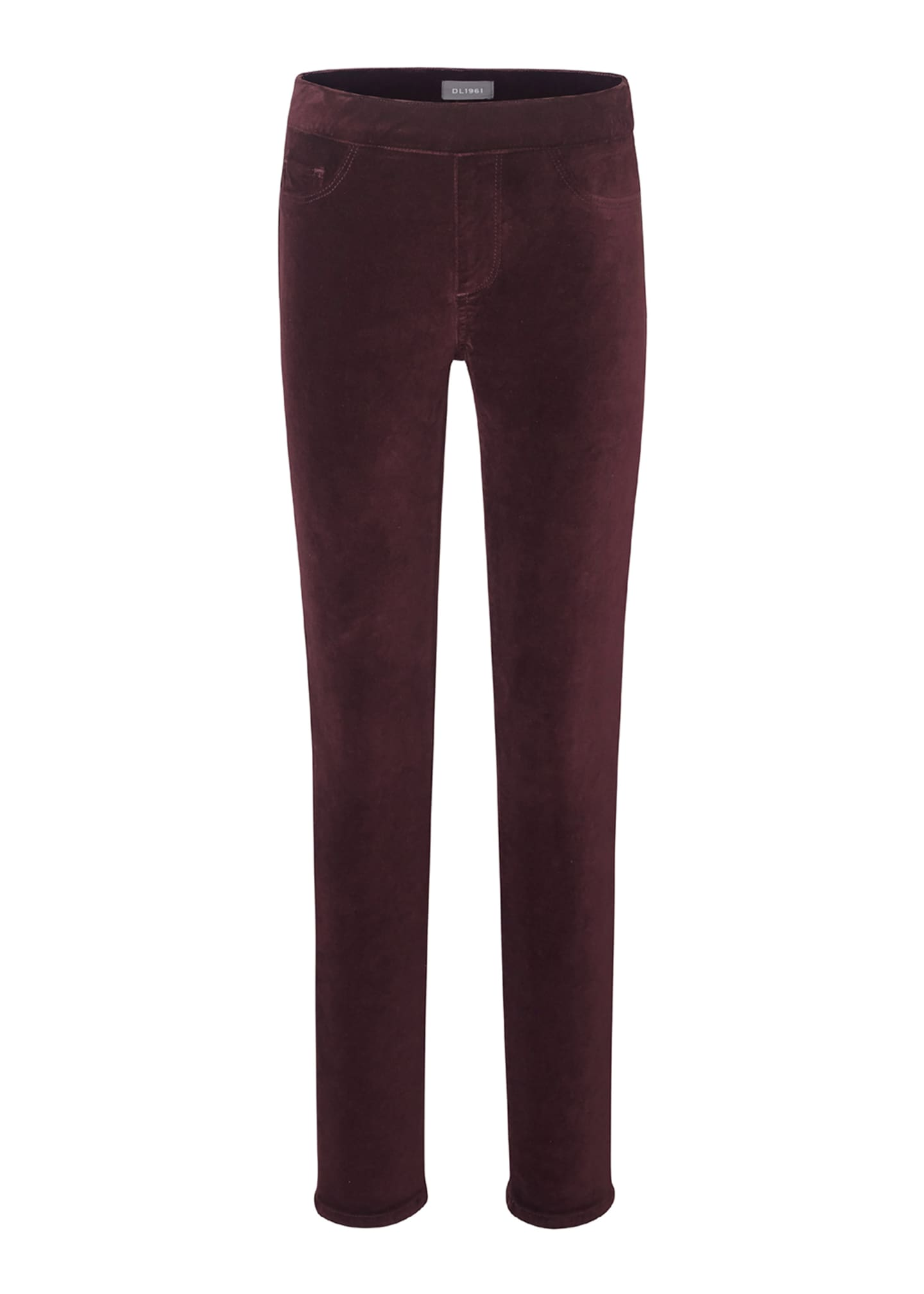 DL1961 Premium Denim Girl's Candy Velvet Leggings, Size