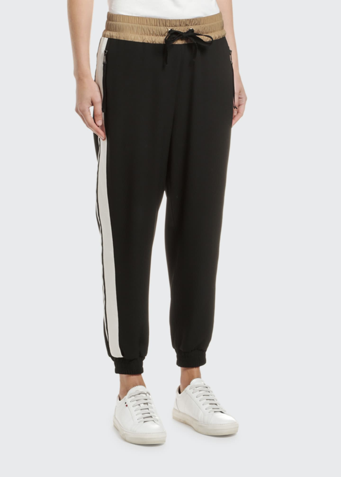 Image 3 of 3: Logo Crepe Joggers