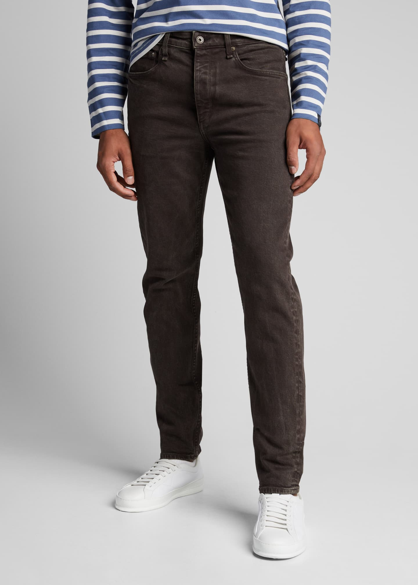 Image 3 of 5: Men's Fit 2 Mid-Rise Stone-Washed Jeans