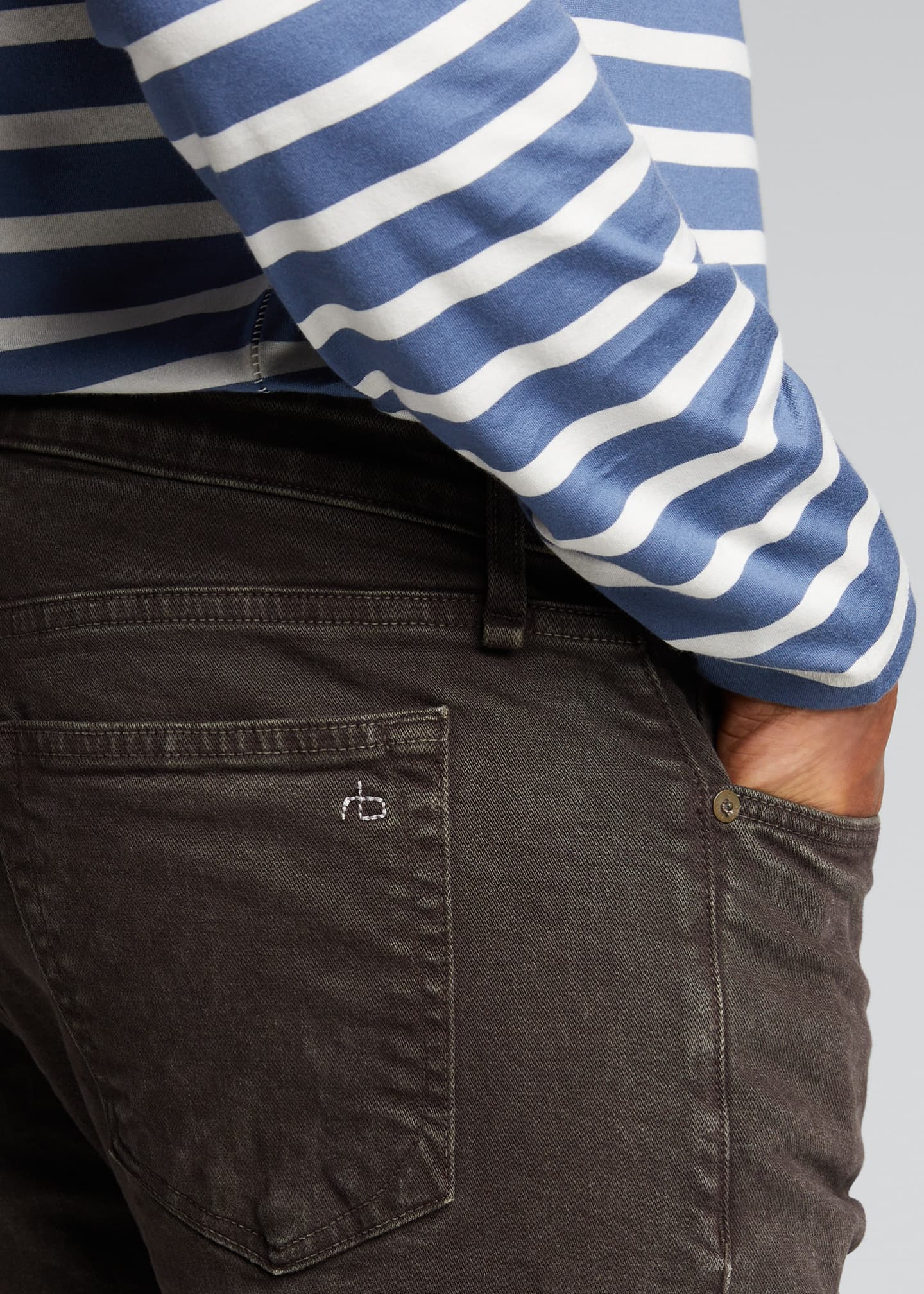 Image 4 of 5: Men's Fit 2 Mid-Rise Stone-Washed Jeans