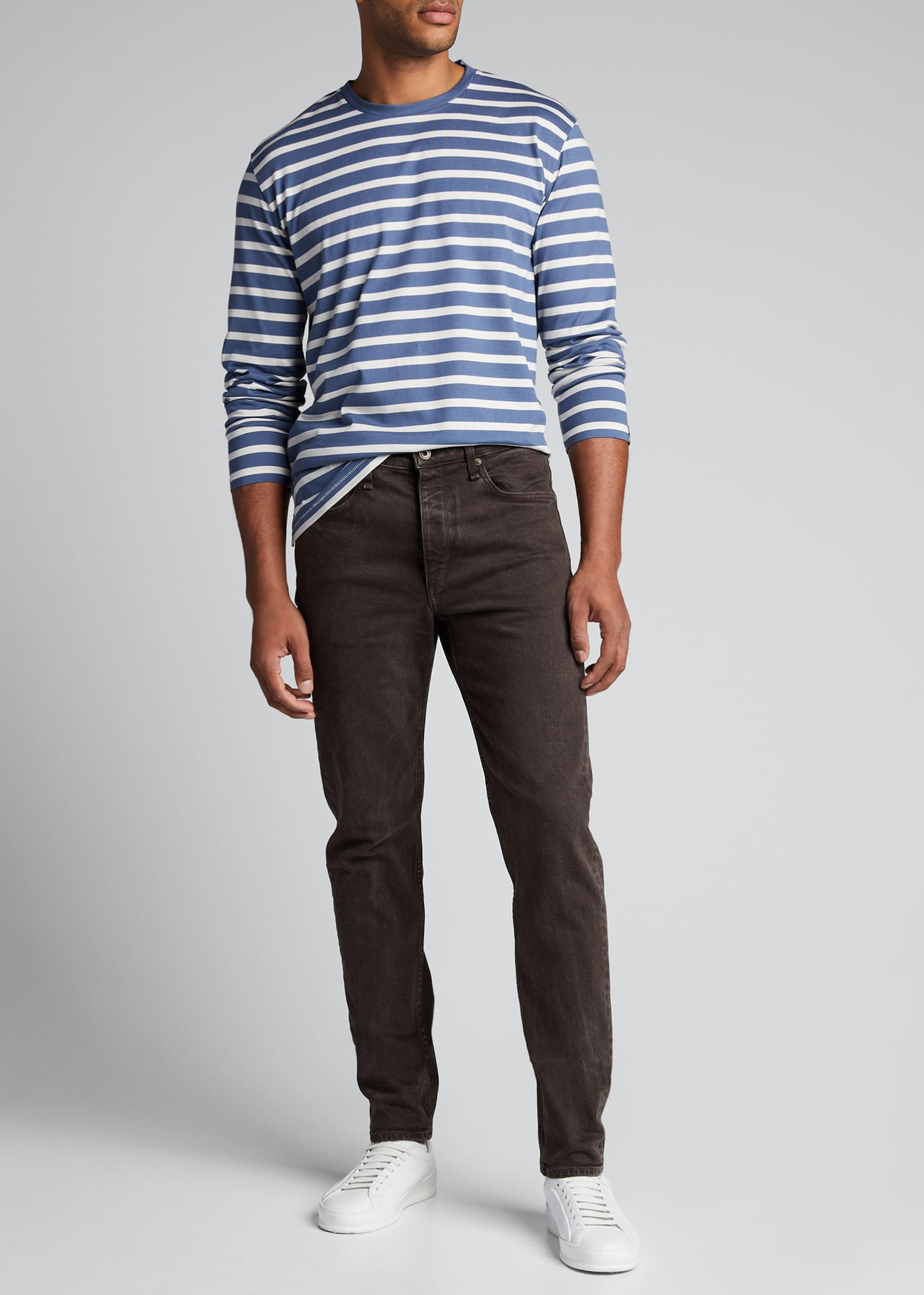 Image 1 of 5: Men's Fit 2 Mid-Rise Stone-Washed Jeans