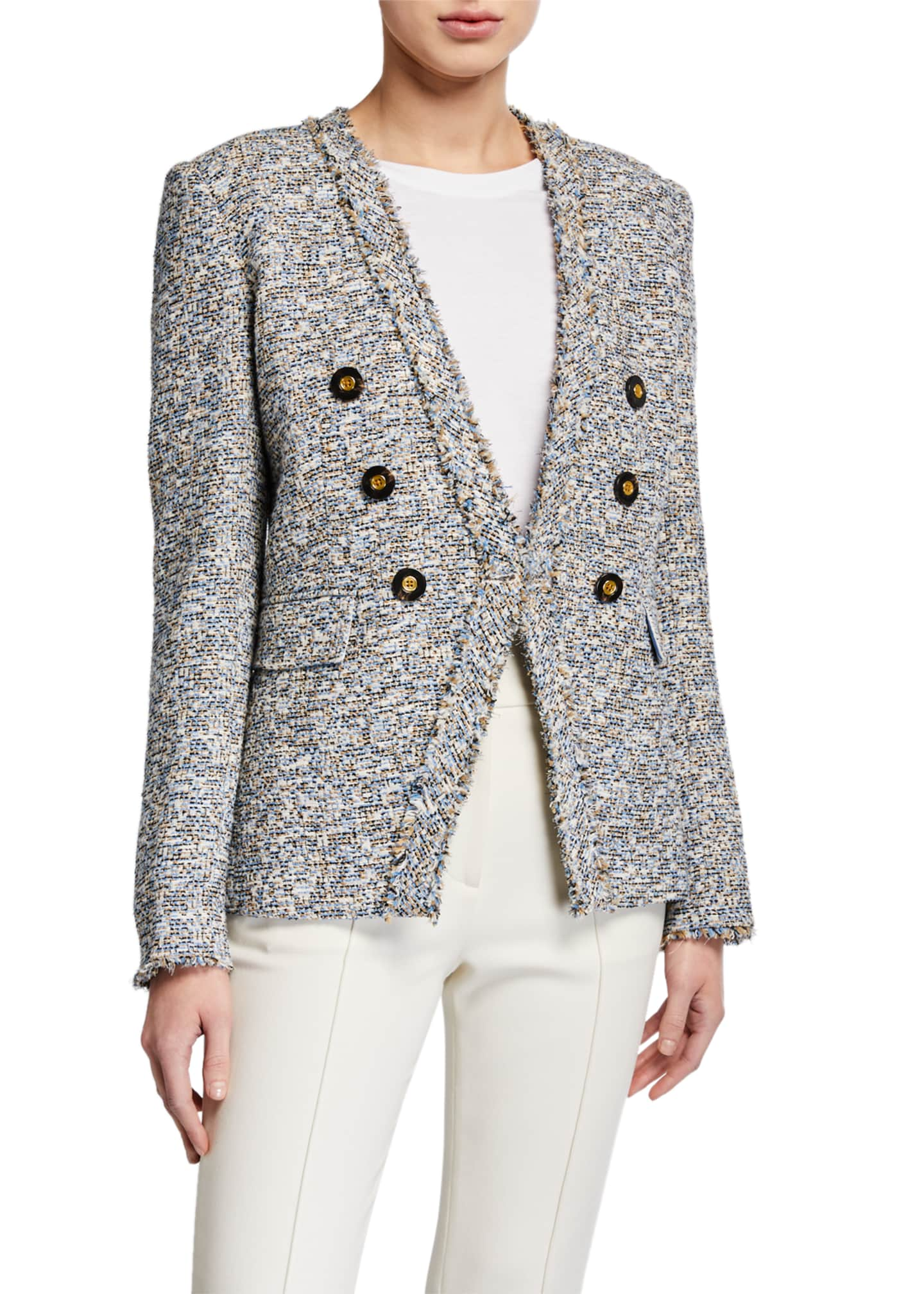 Image 2 of 2: Cedric Tweed Dickey Blazer