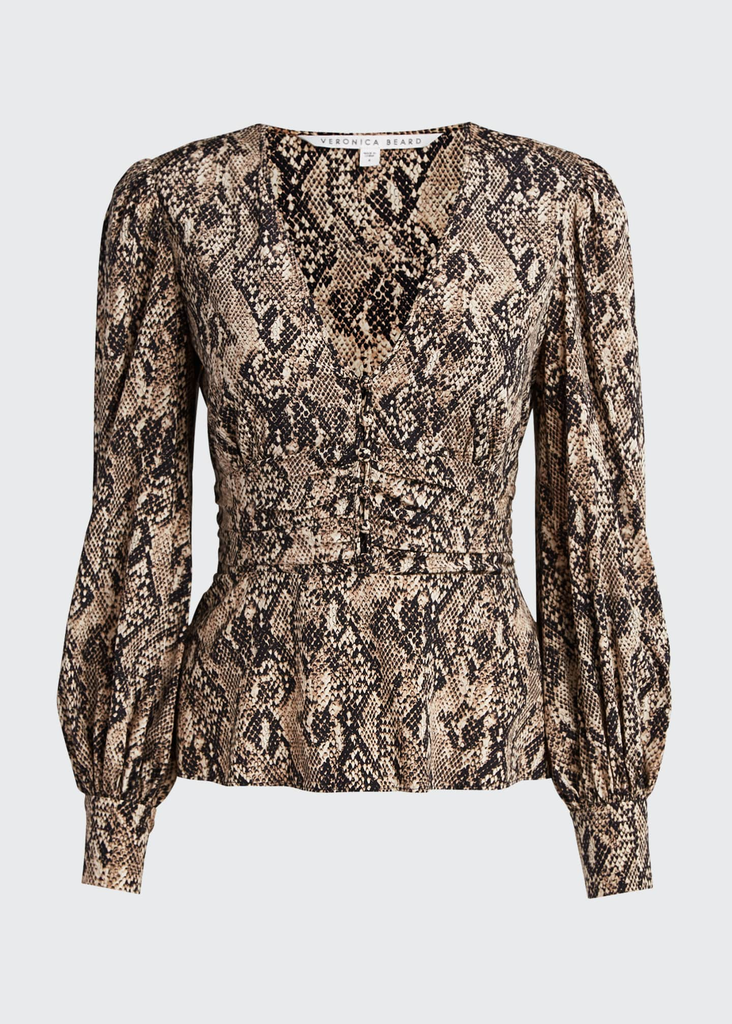 Image 5 of 5: Thea Button-Down Blouse