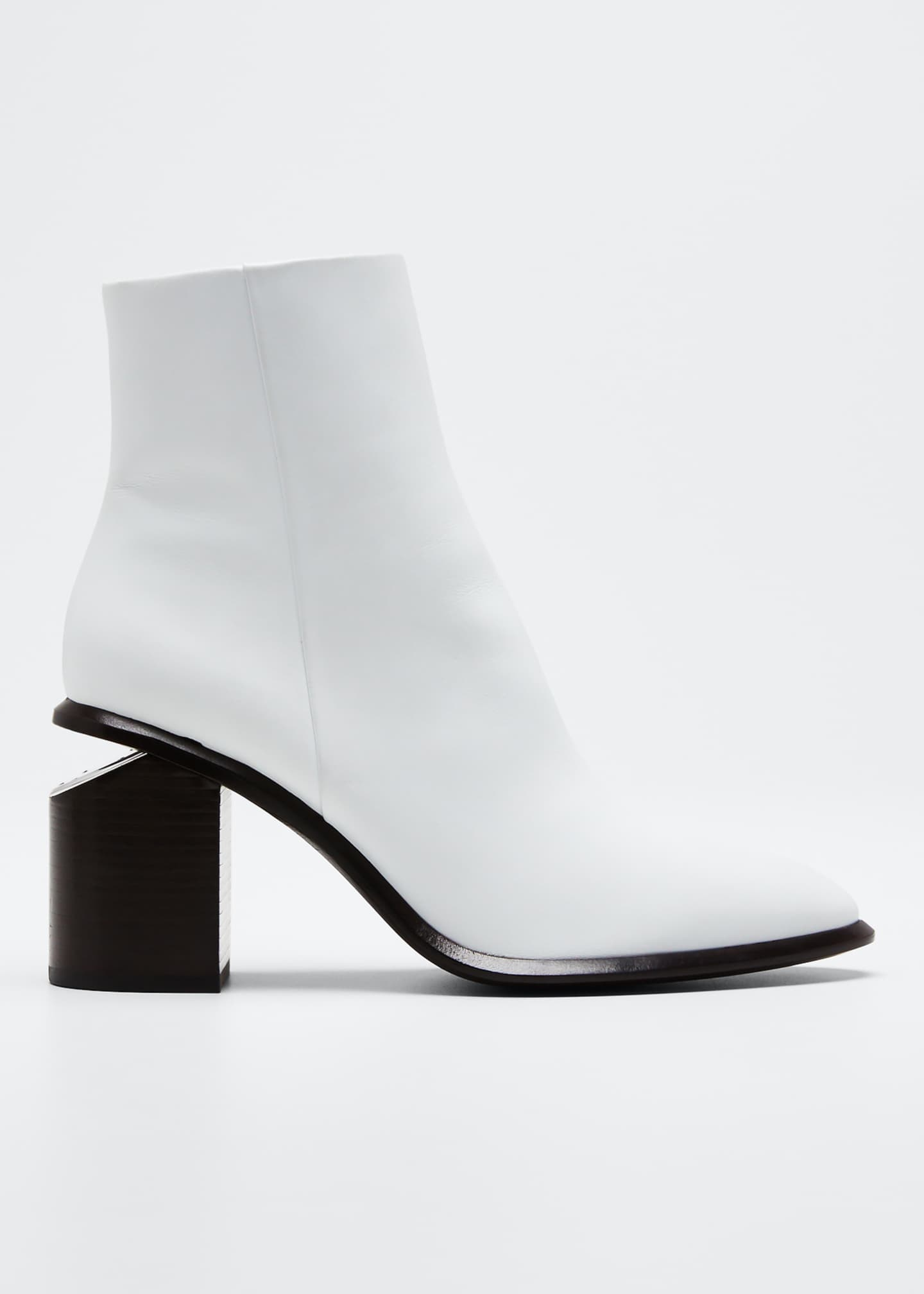 Alexander Wang 80mm Anna Mid-Heel Booties