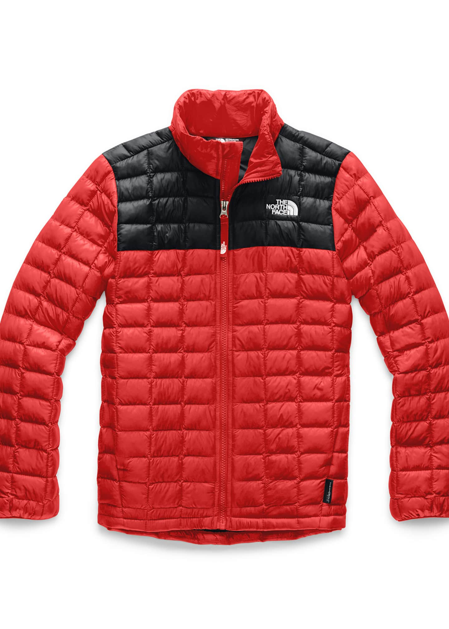 The North Face Boy's Quilted ThermoBall Stand Collar