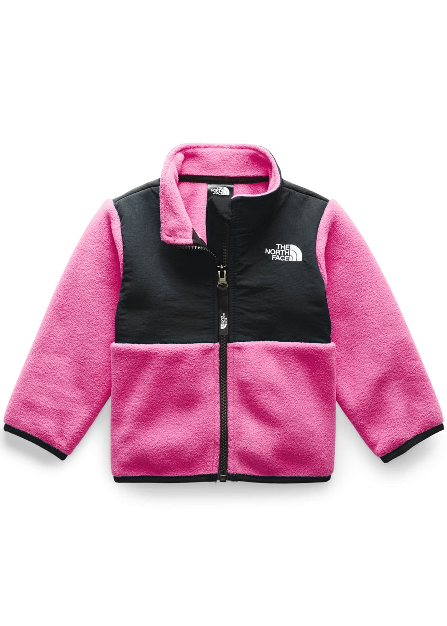 The North Face Girl's Denali Two-Tone Fleece Jacket,