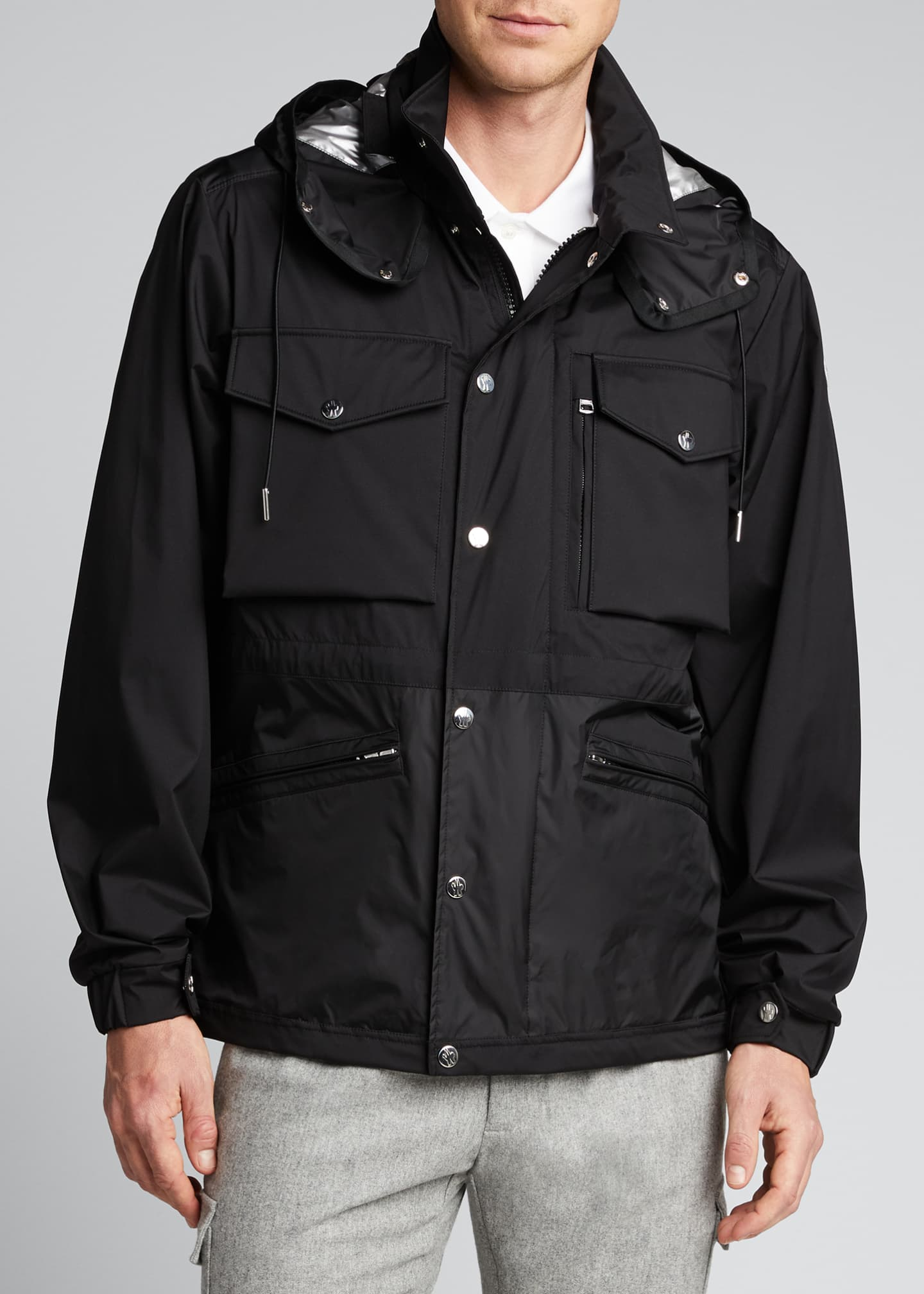 Image 3 of 5: Men's Sienne Nylon Field Jacket