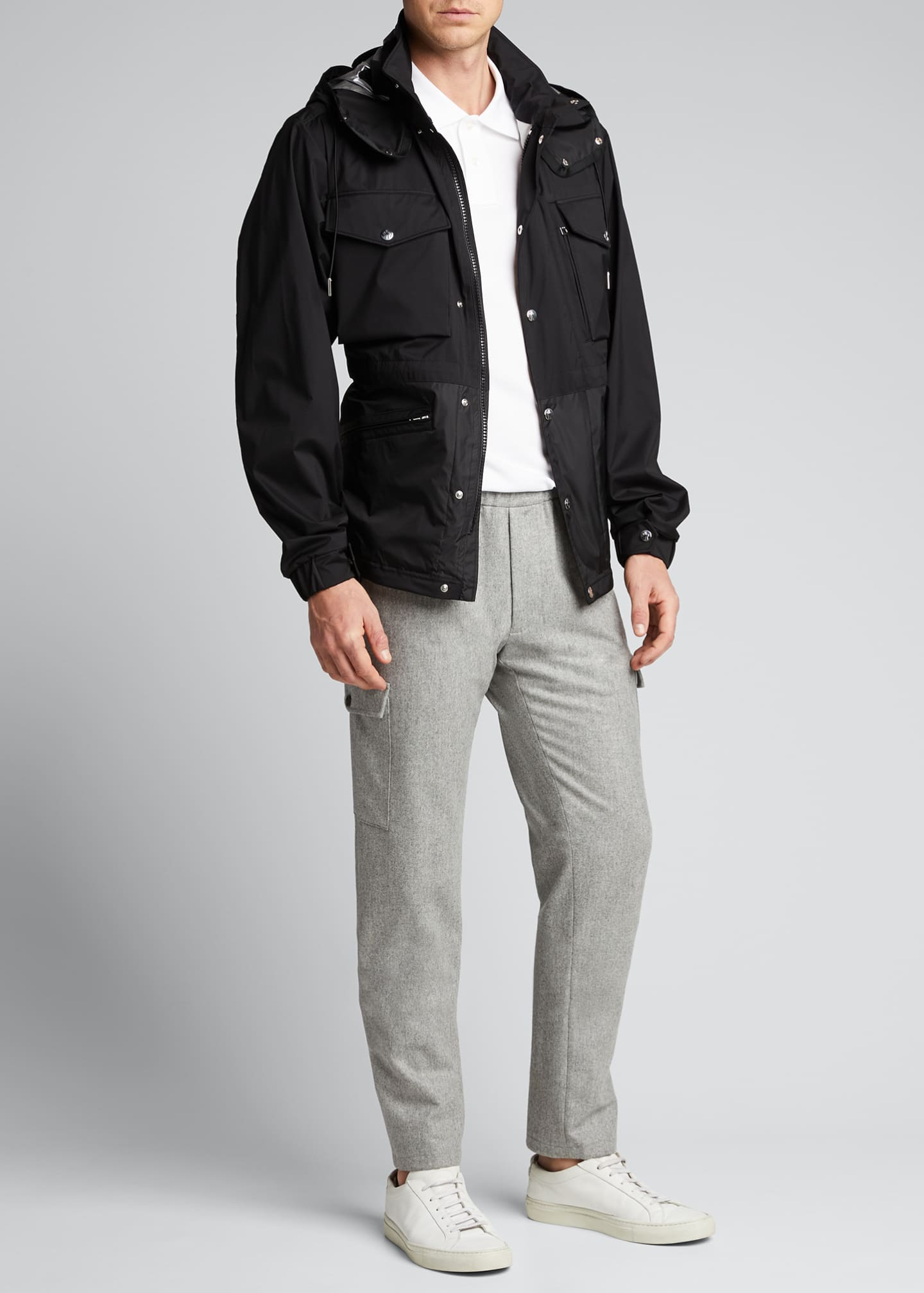 Image 1 of 5: Men's Sienne Nylon Field Jacket