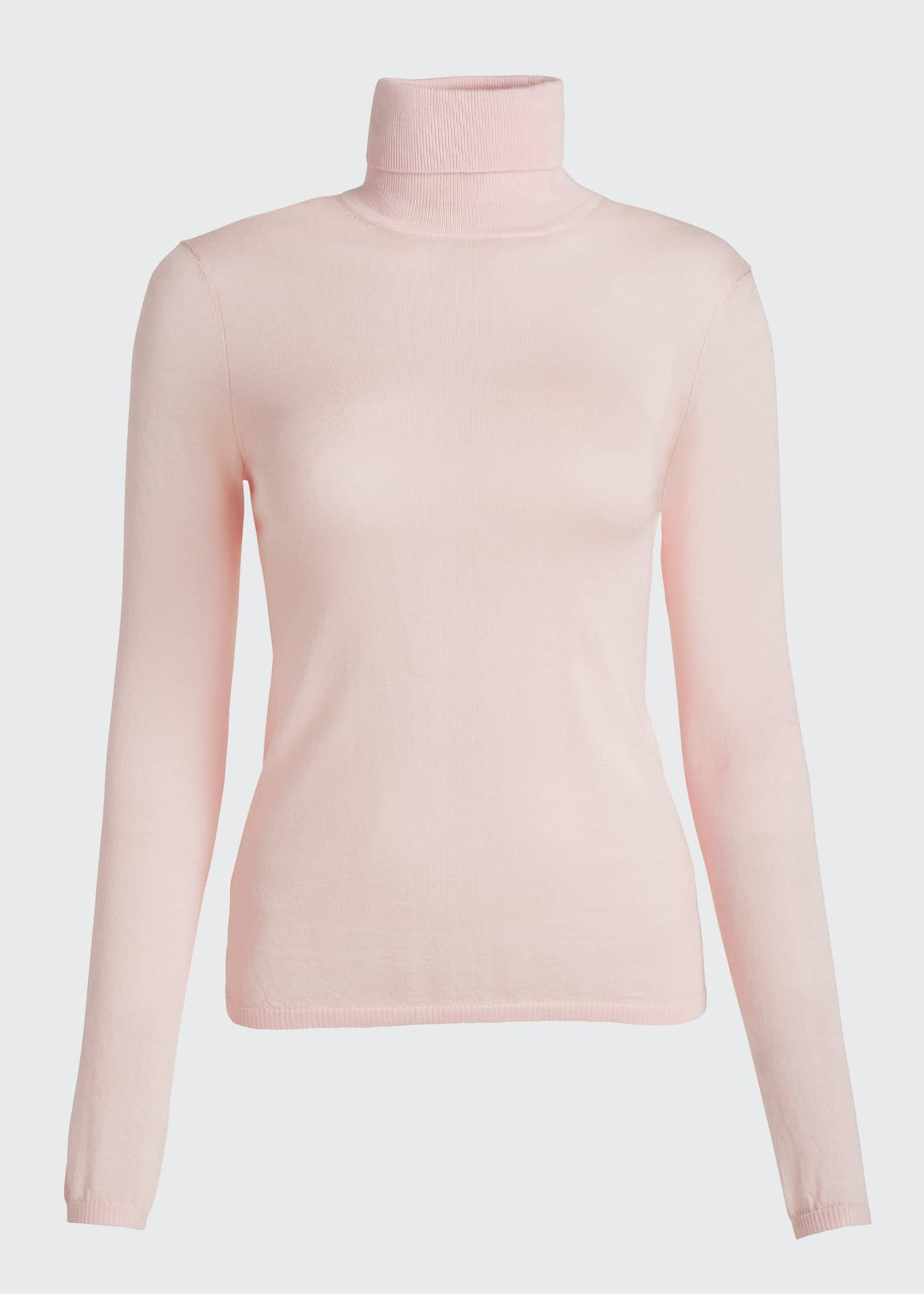 Image 5 of 5: Costa Cashmere-Silk Turtleneck Sweater