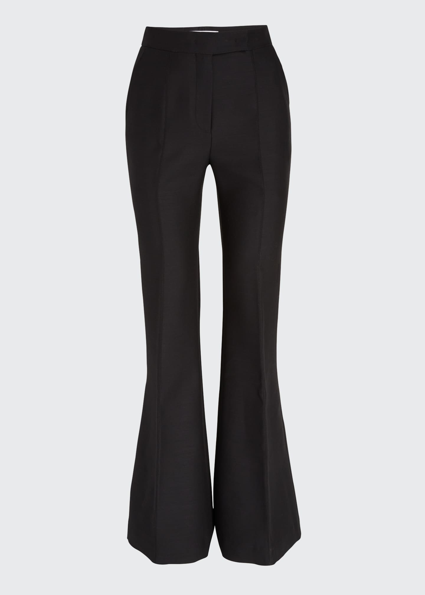 Image 5 of 5: Leda Suiting Flare-Leg Pants