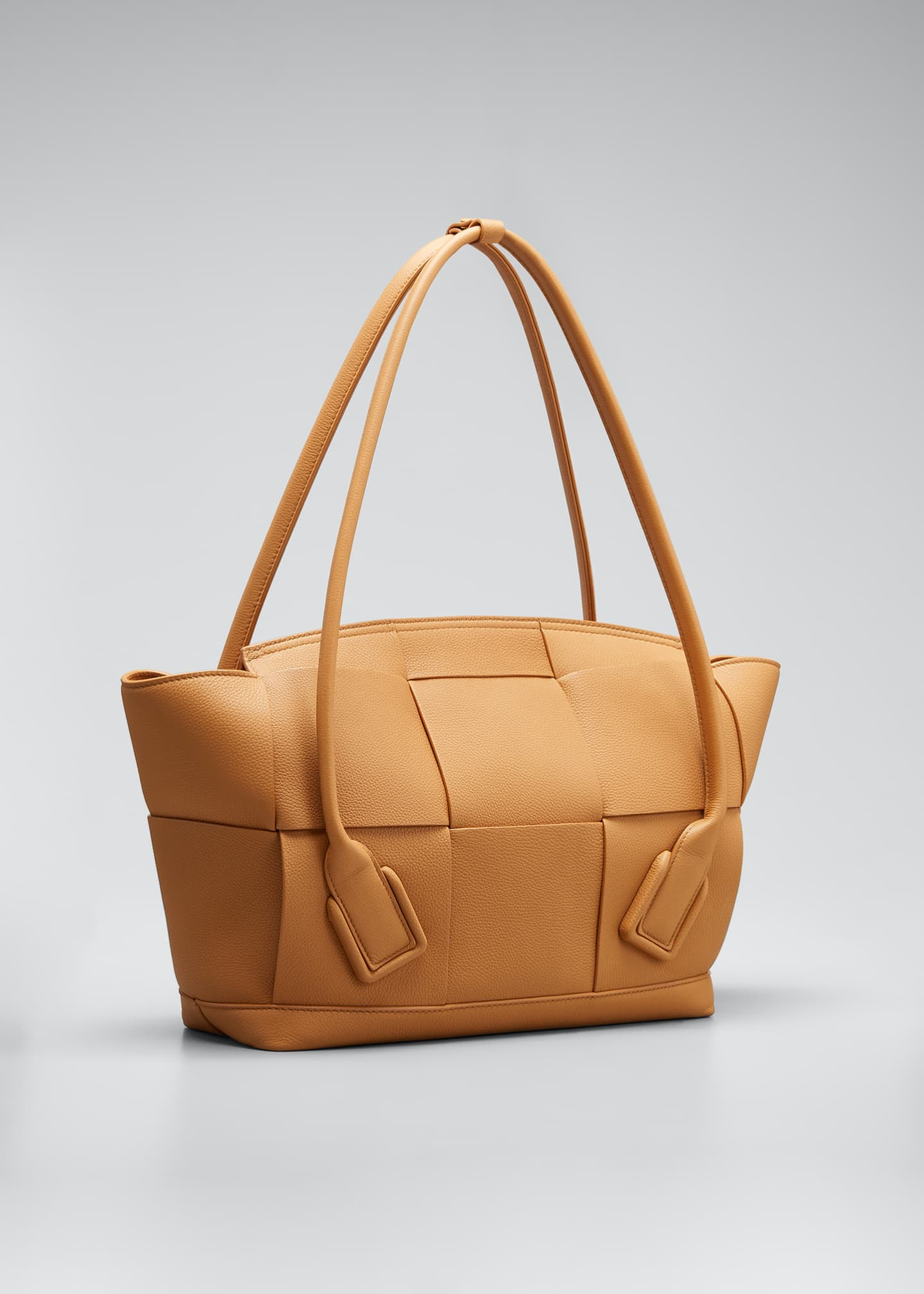 Image 2 of 3: Arco 48 Medium Grainy Leather Top-Handle Bag