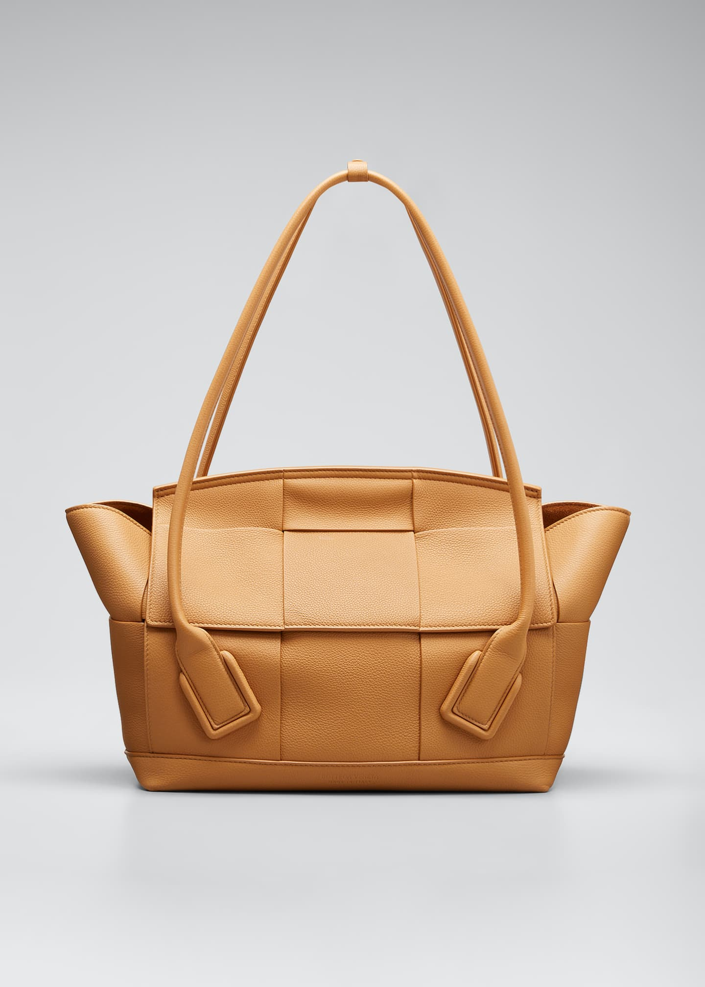 Image 1 of 3: Arco 48 Medium Grainy Leather Top-Handle Bag