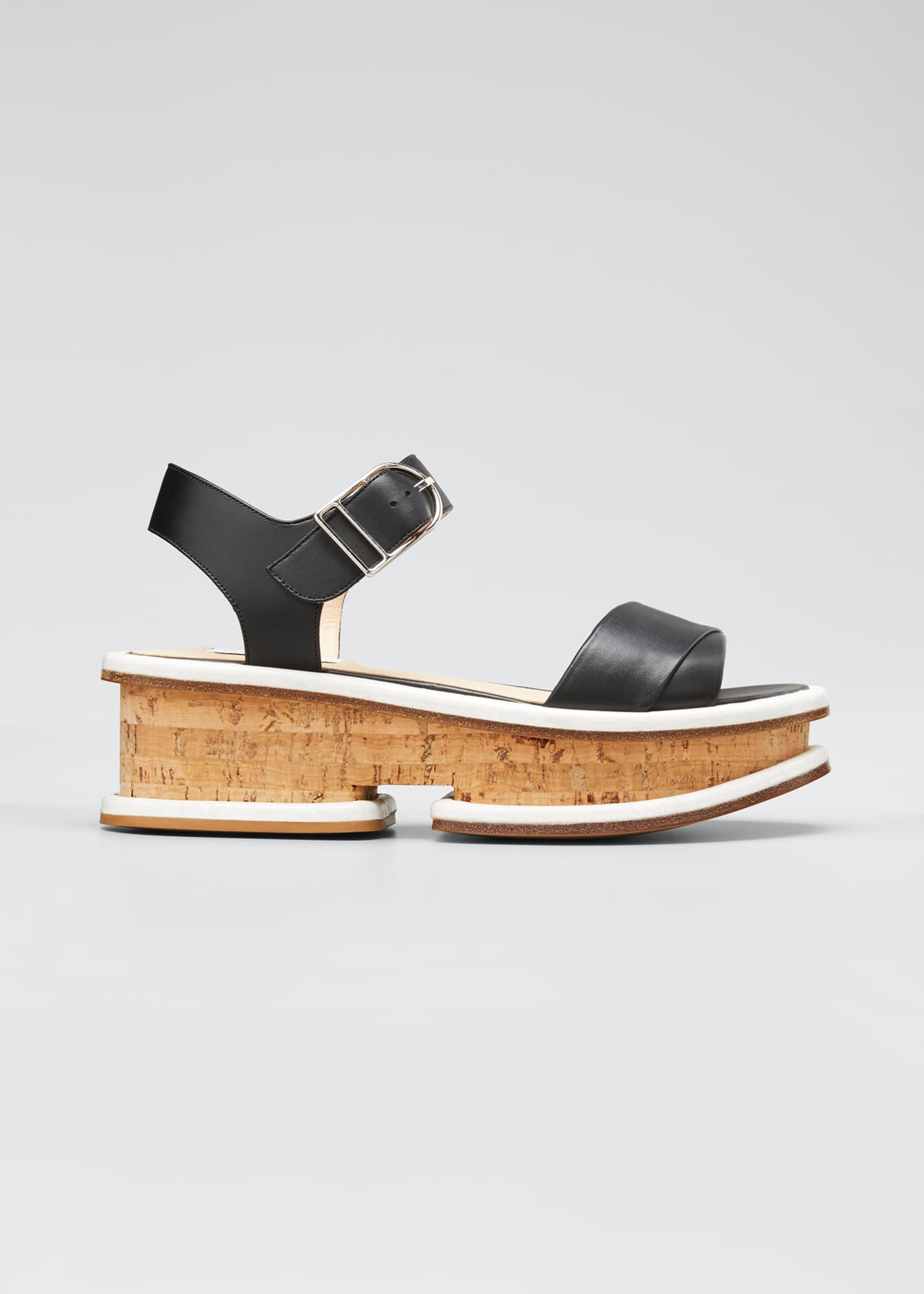 Image 1 of 3: Bradley 25mm Platform Sandals