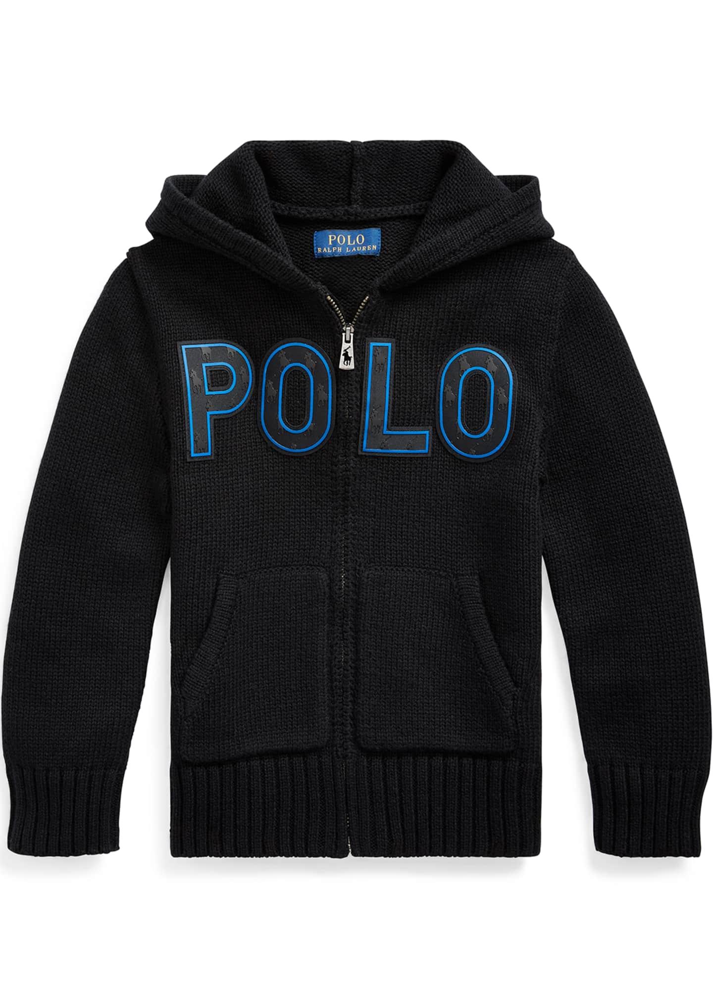 Ralph Lauren Childrenswear Boy's Knit Hooded Sweater Jacket