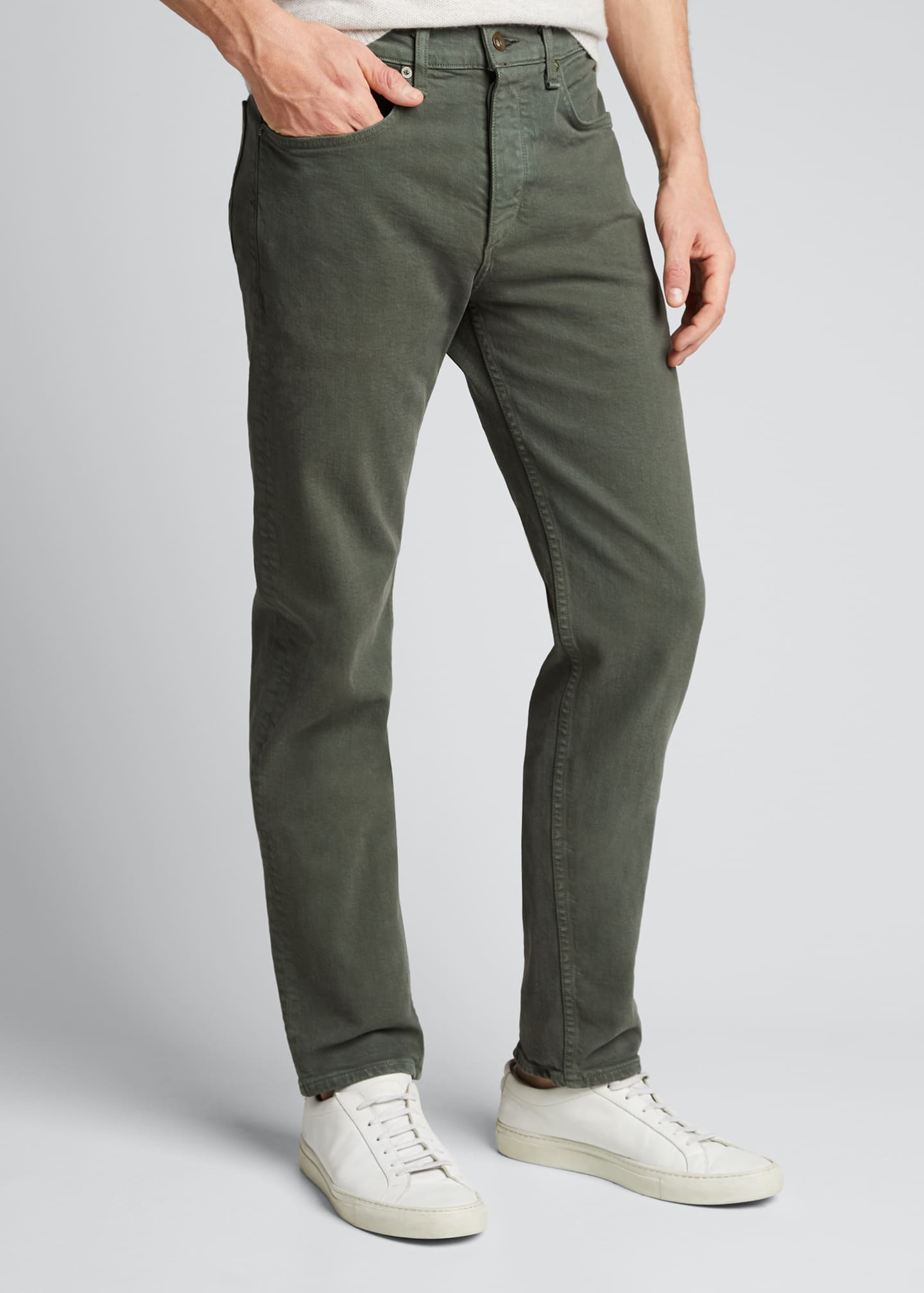 Image 3 of 5: Men's Fit 2 Mid-Rise Relaxed Slim-Fit Jeans