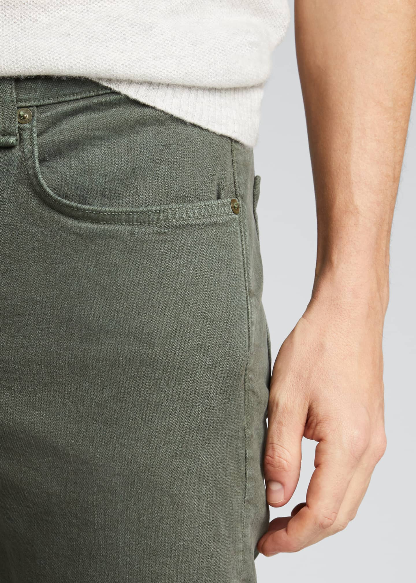 Image 4 of 5: Men's Fit 2 Mid-Rise Relaxed Slim-Fit Jeans