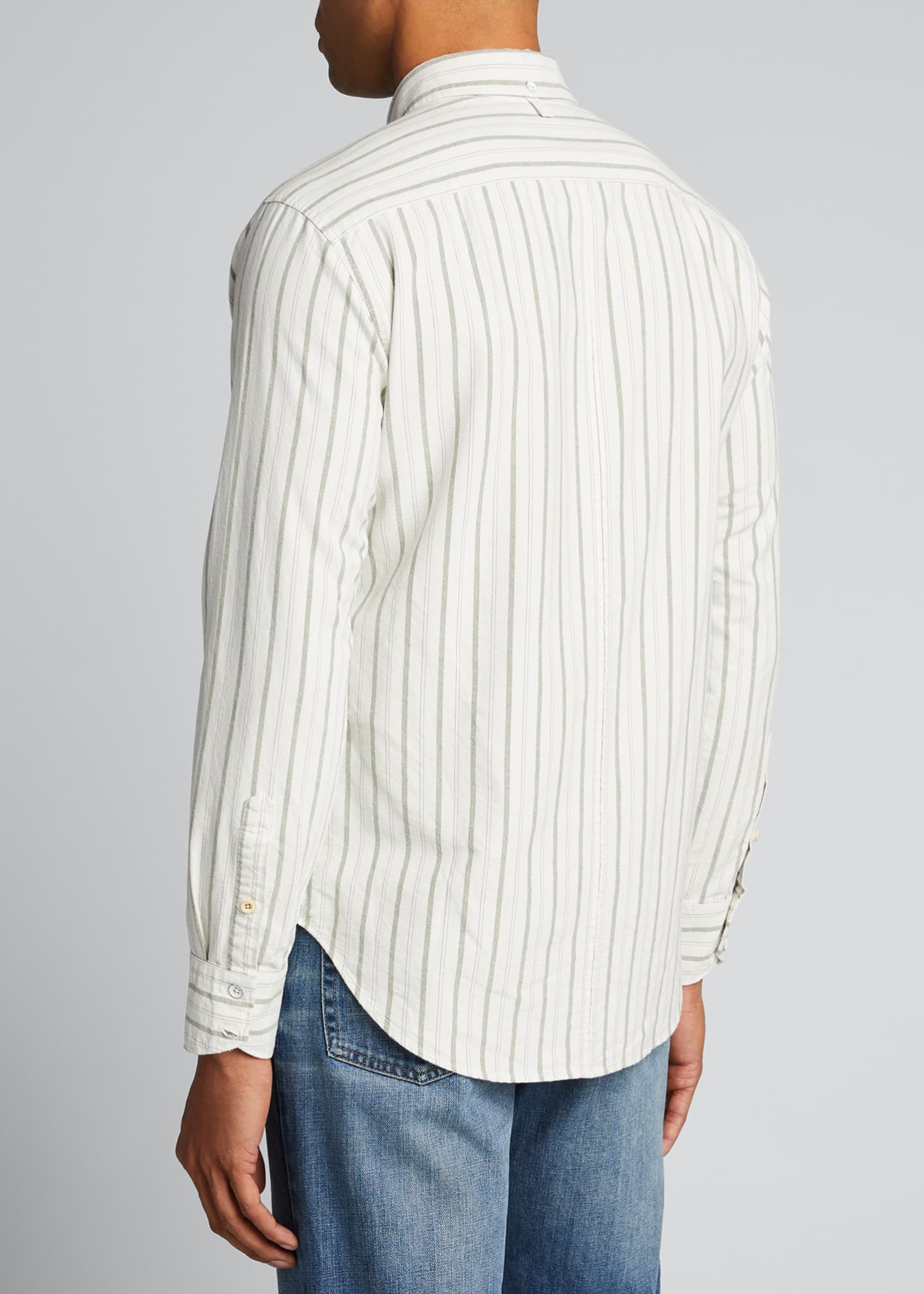 Image 2 of 5: Men's Tomlin Striped Oxford Sport Shirt