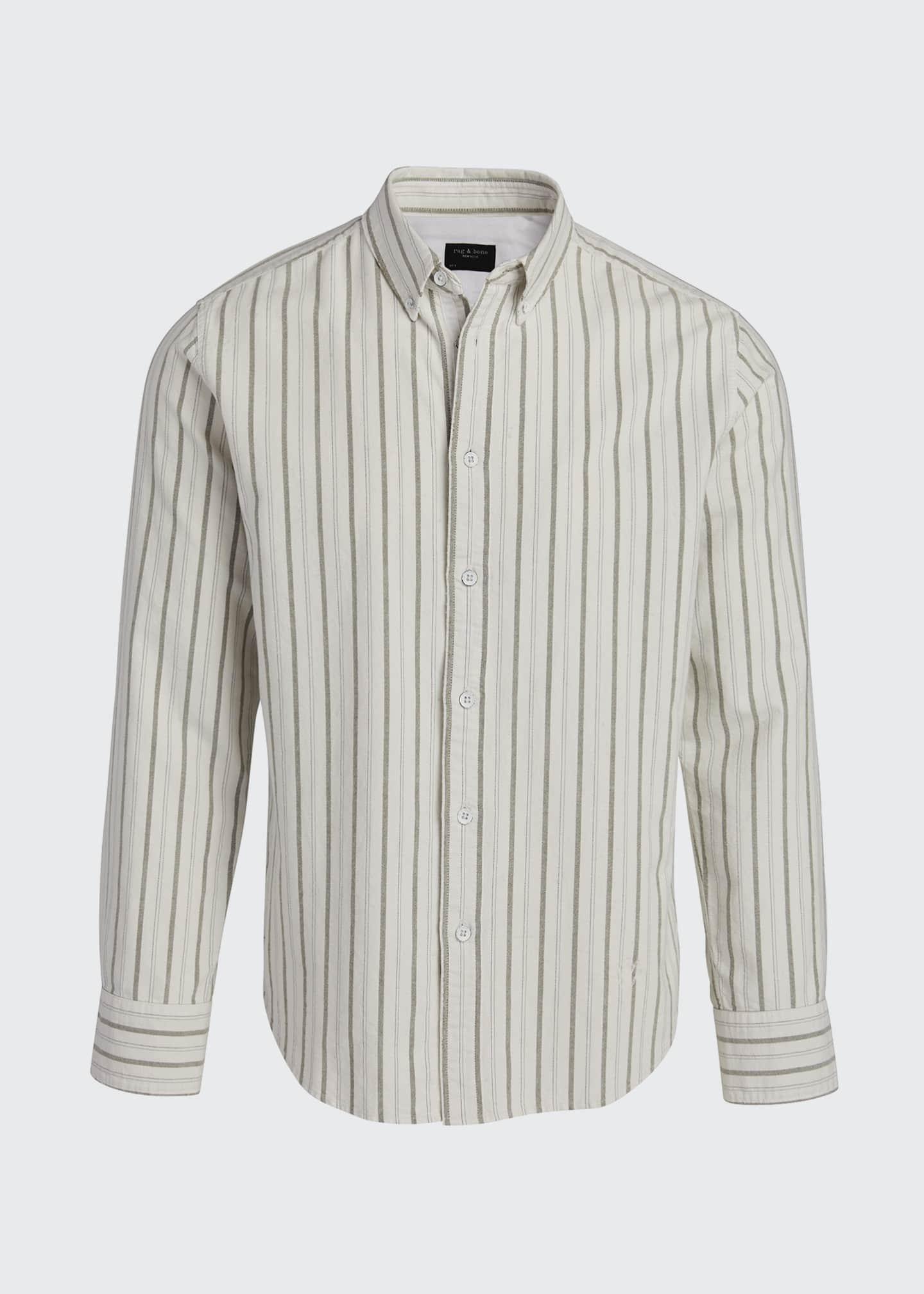 Image 5 of 5: Men's Tomlin Striped Oxford Sport Shirt