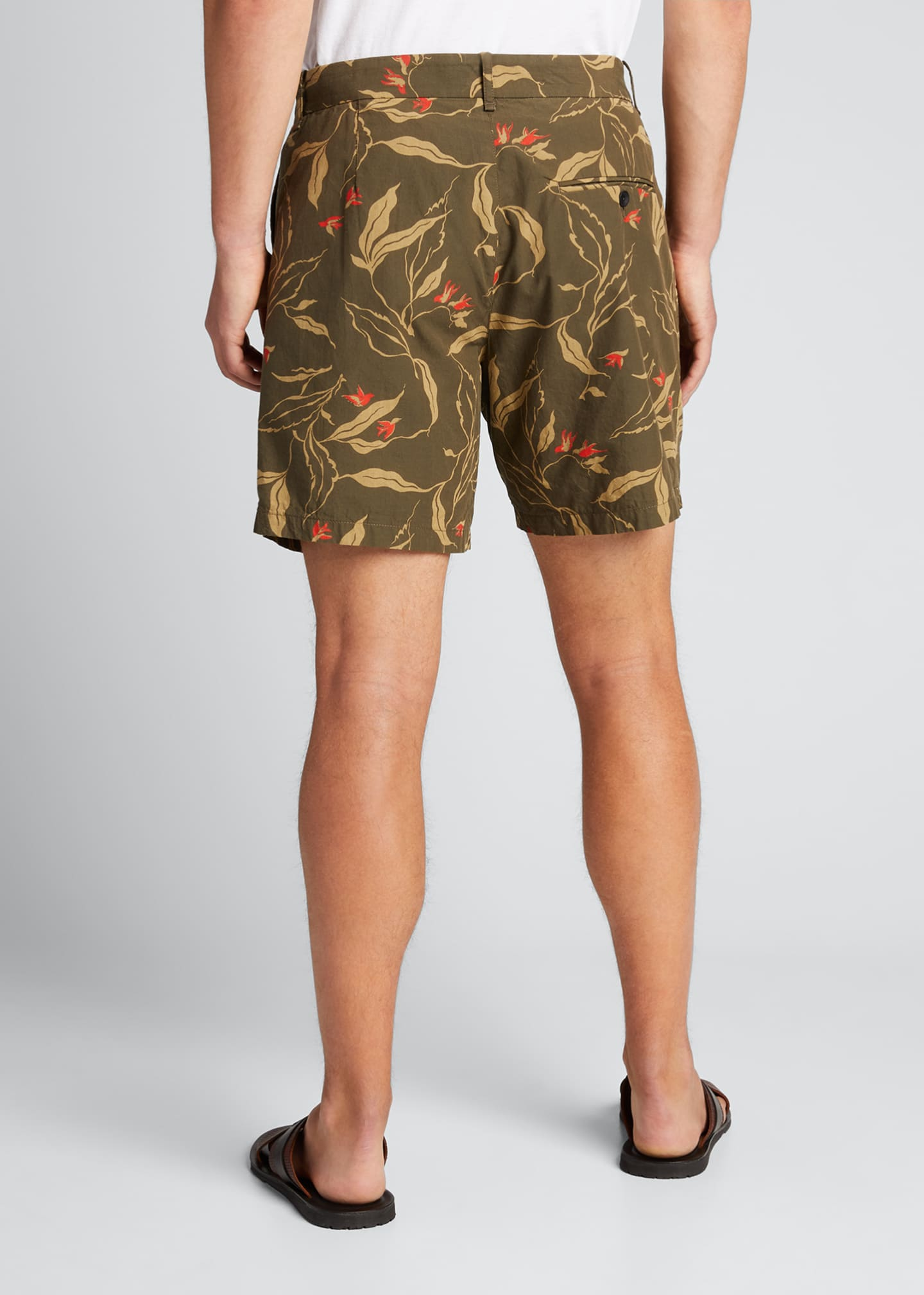 Image 2 of 5: Men's Jackson Floral-Print Shorts