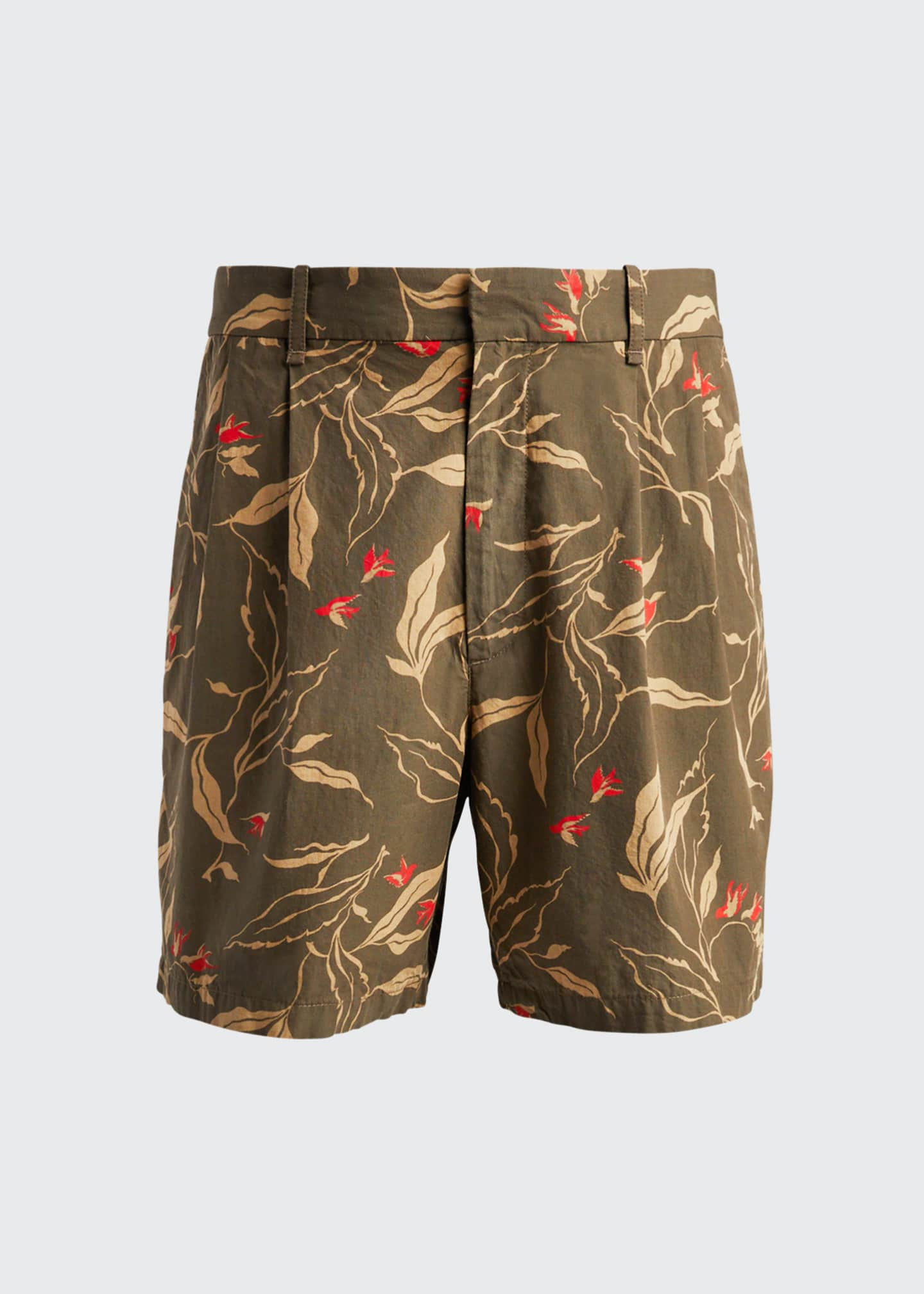 Image 5 of 5: Men's Jackson Floral-Print Shorts