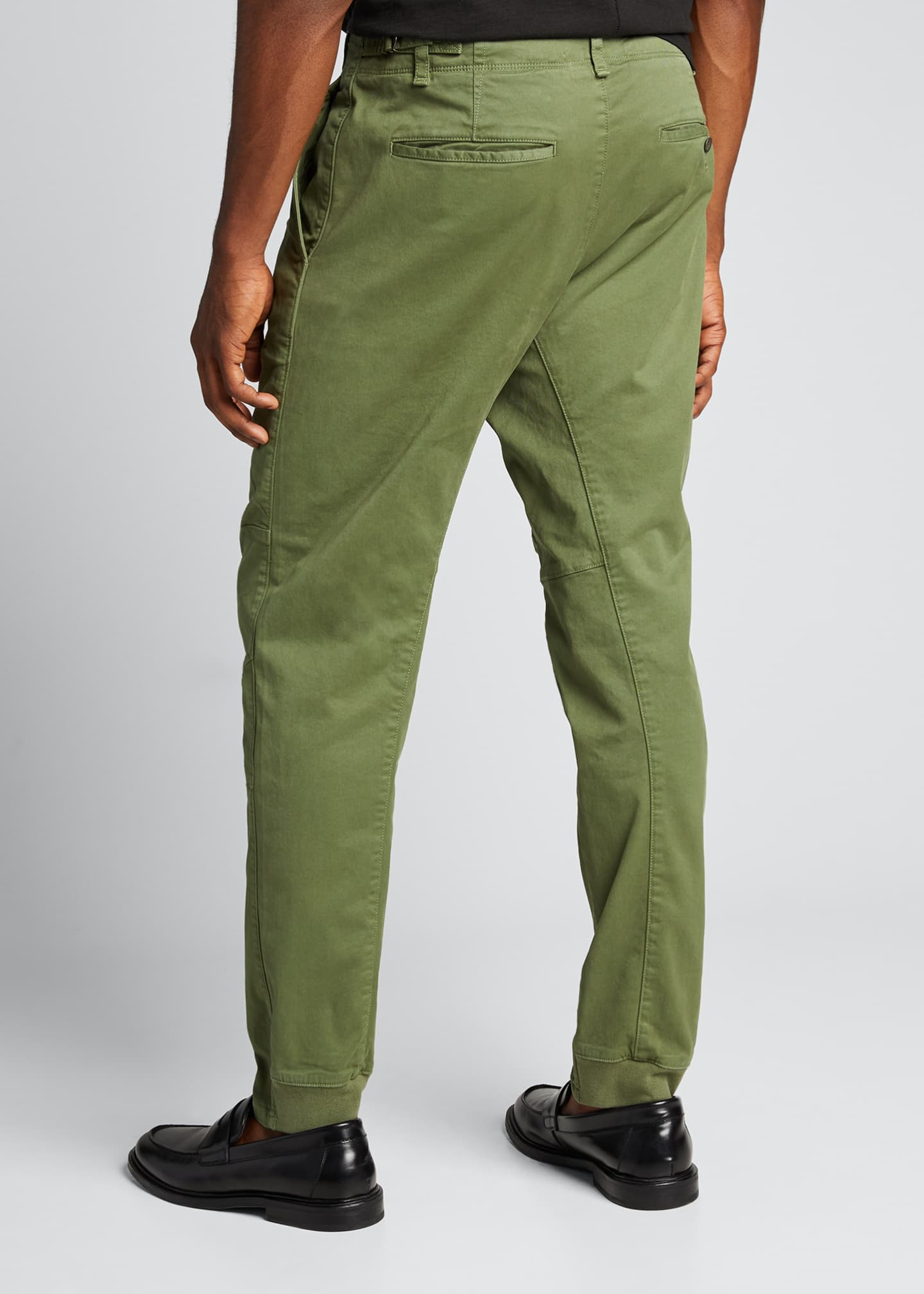 Image 2 of 5: Men's Articulated Stretch-Cotton Chino Pants
