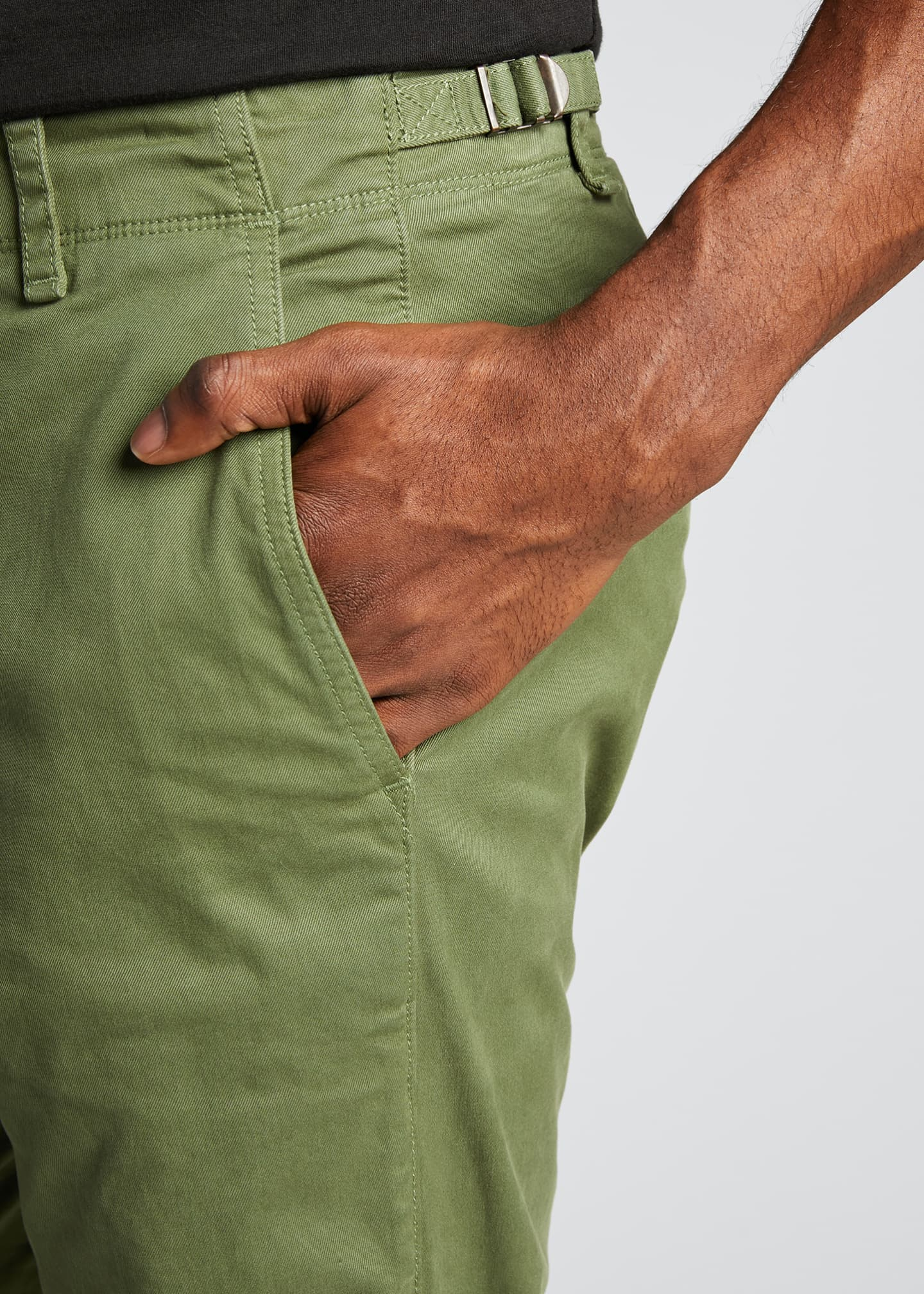 Image 4 of 5: Men's Articulated Stretch-Cotton Chino Pants