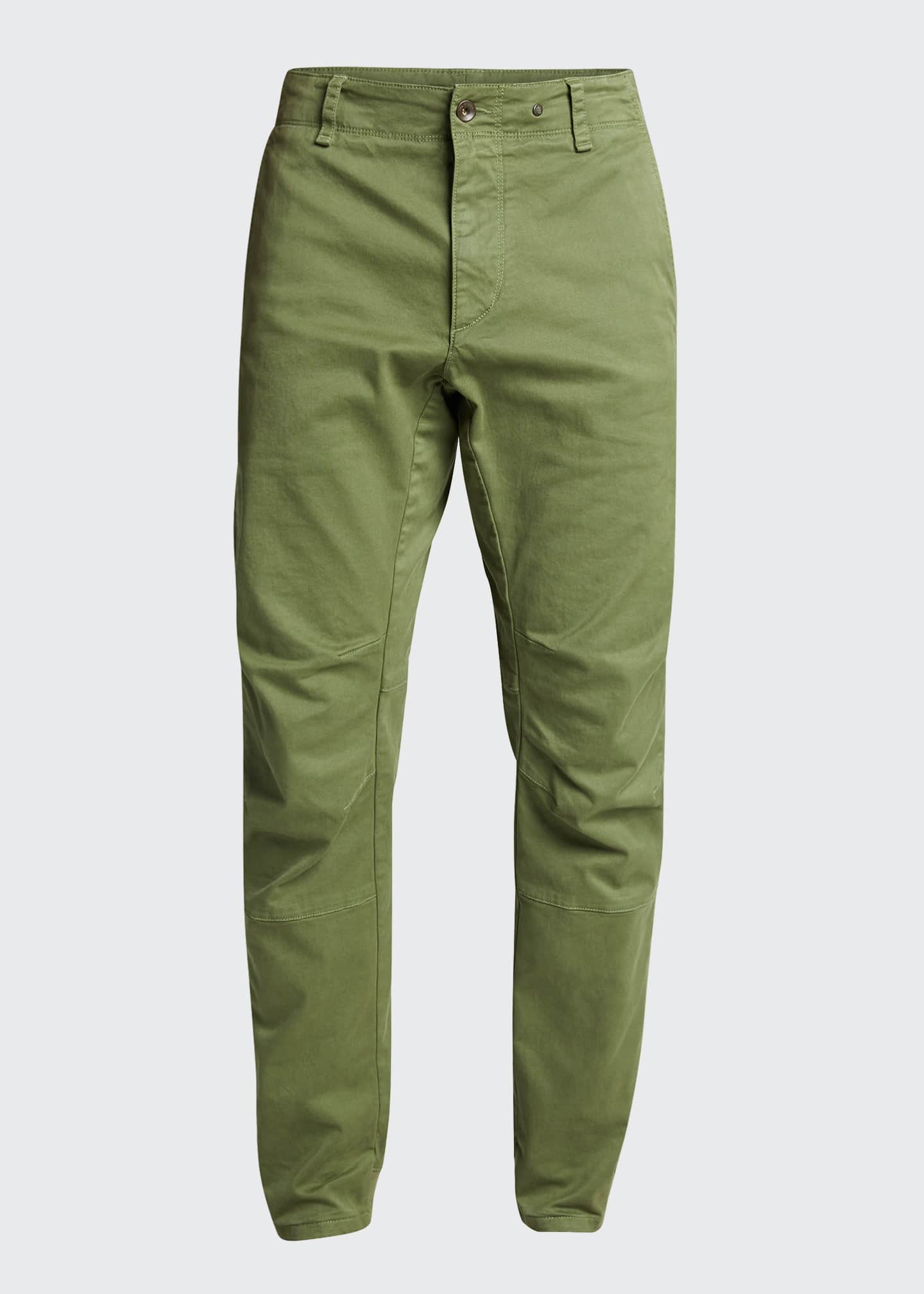 Image 5 of 5: Men's Articulated Stretch-Cotton Chino Pants