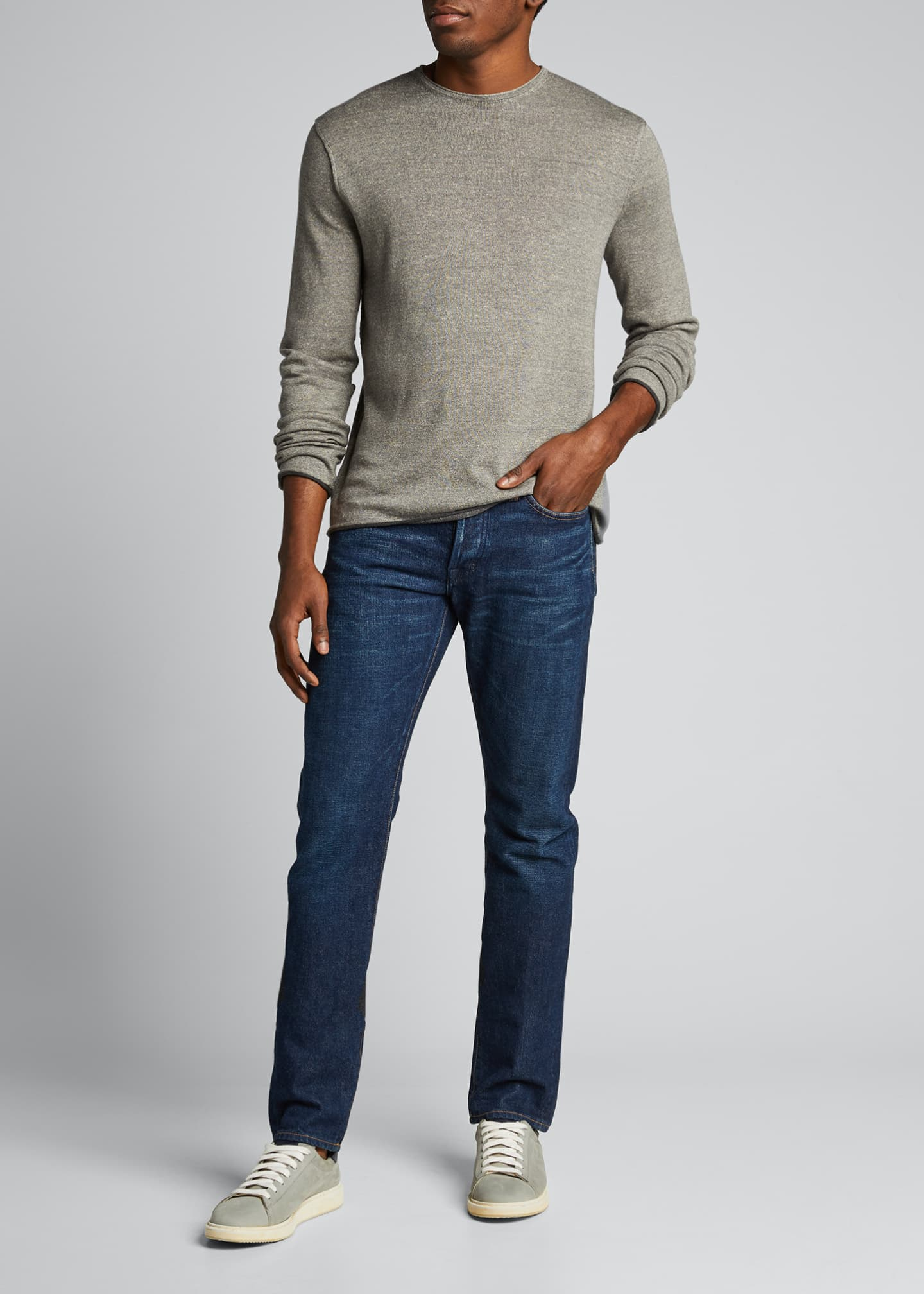 Image 1 of 5: Men's Trent Extrafine Crewneck Sweater
